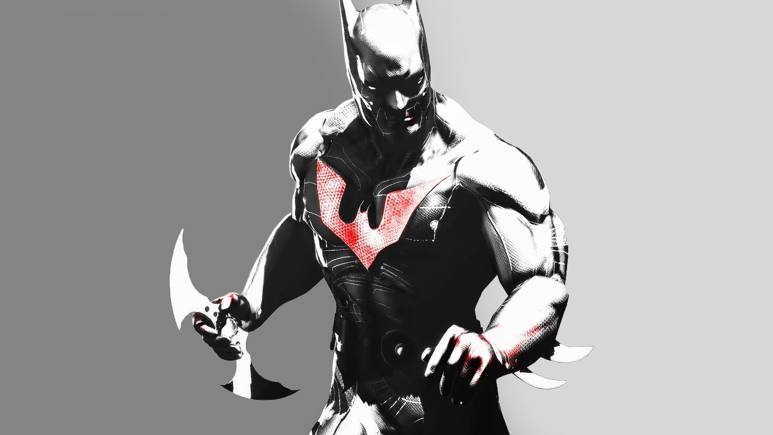 2560x1440 Batman Arkham Origins Skins Batman Beyond