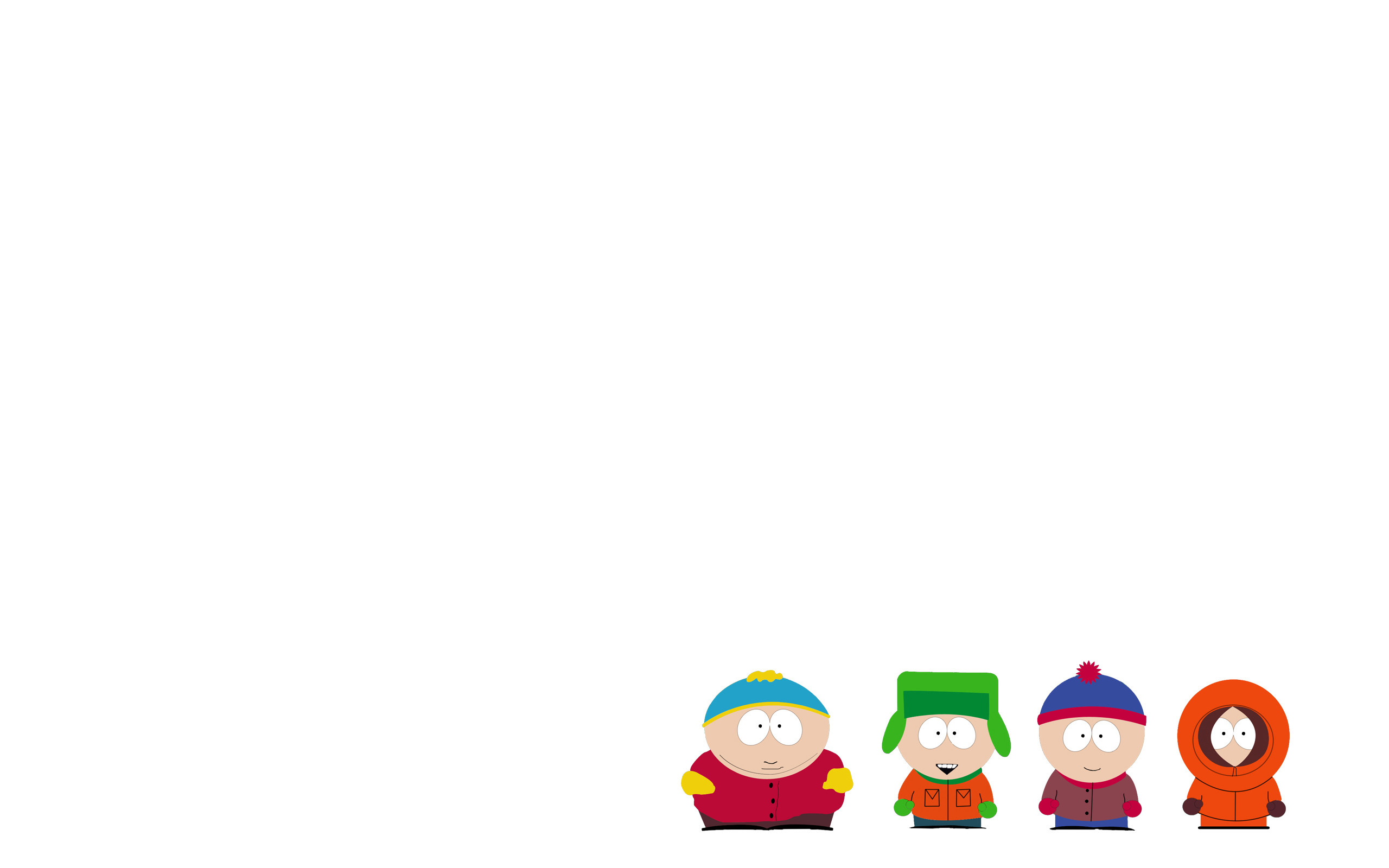 2560x1600 Non-Real Life South Park Minimalist Wallpaper I made ...