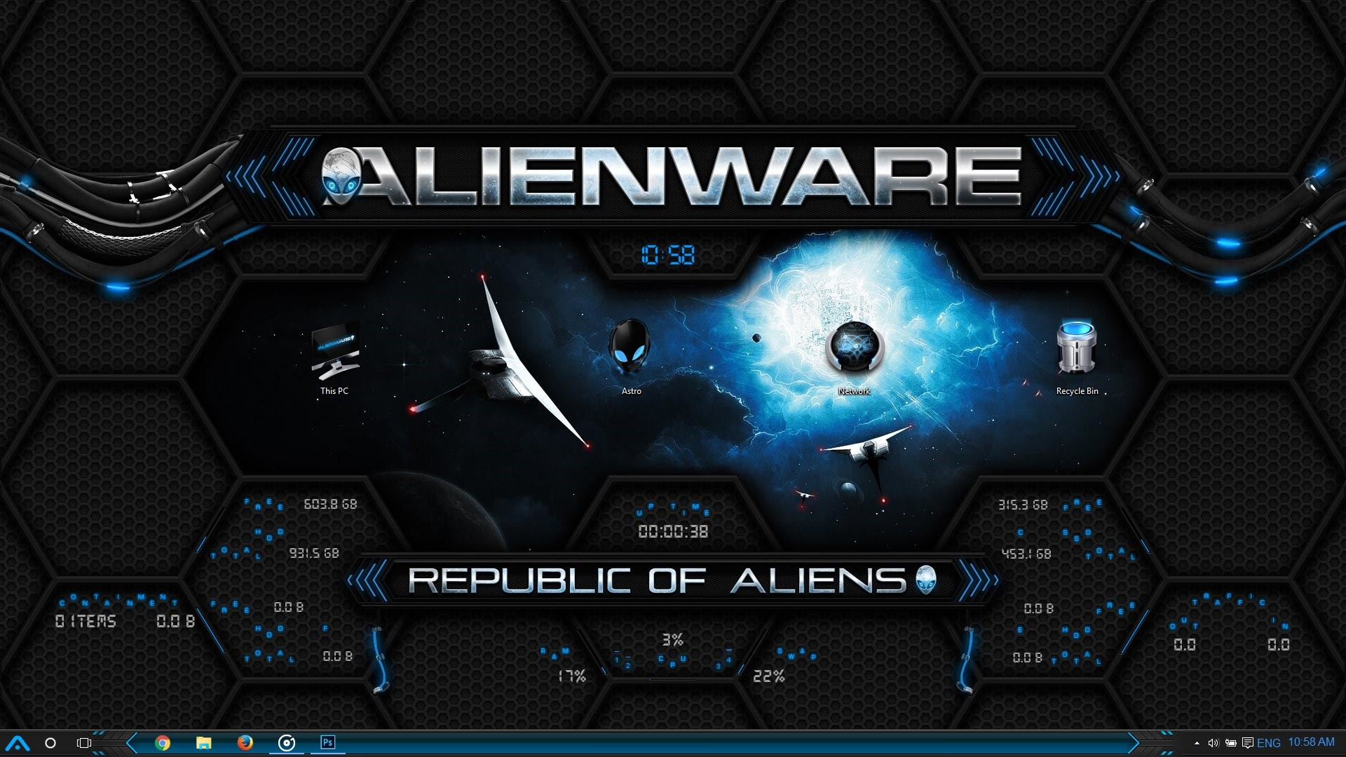 Alienware wallpaper pack 63 images 1920x1200 alienware green wallpapers full hd wallpaper search voltagebd Gallery
