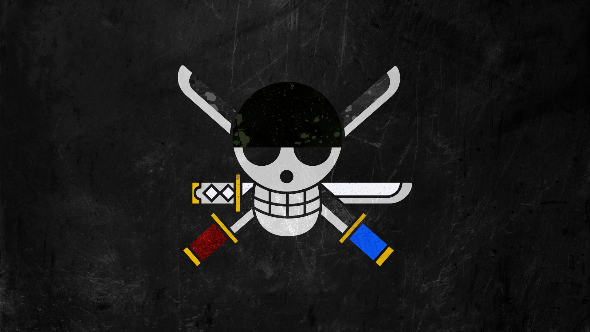 1920x1080 ... Pirate Flag ~ Zoro - Beginning of a Voyage by DrBoxHead