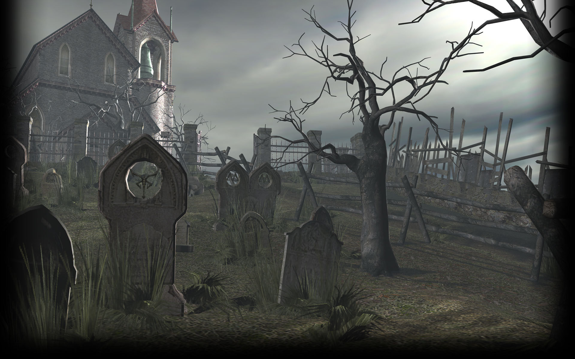 1920x1200 Image - Resident Evil 4 Biohazard 4 Background RE4 Cemetery.jpg | Steam  Trading Cards Wiki | FANDOM powered by Wikia