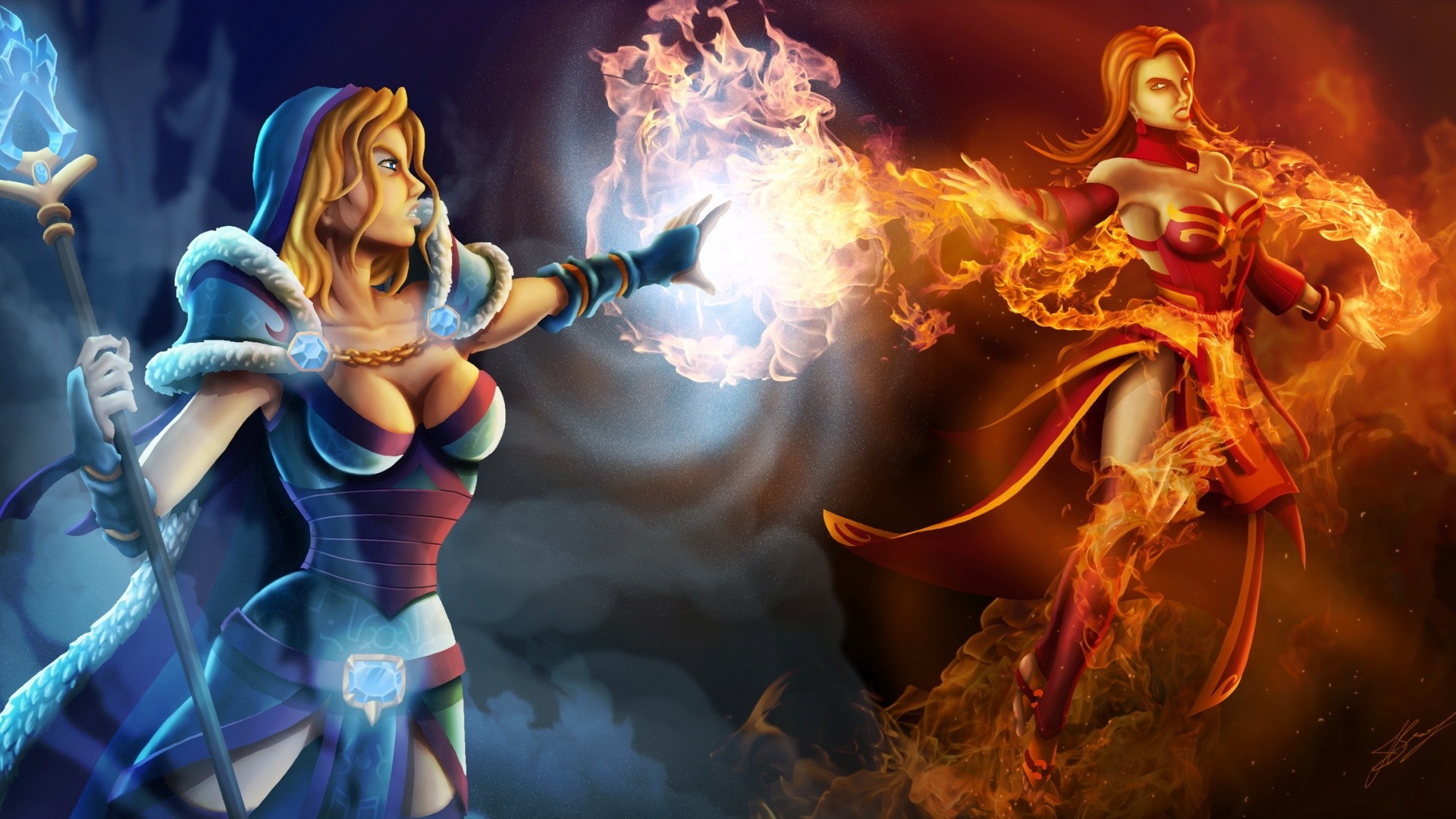 1920x1080 Dota 2 Wallpapers  Hd Awesome Lina Dota 2 Wallpaper Wallpapersafari