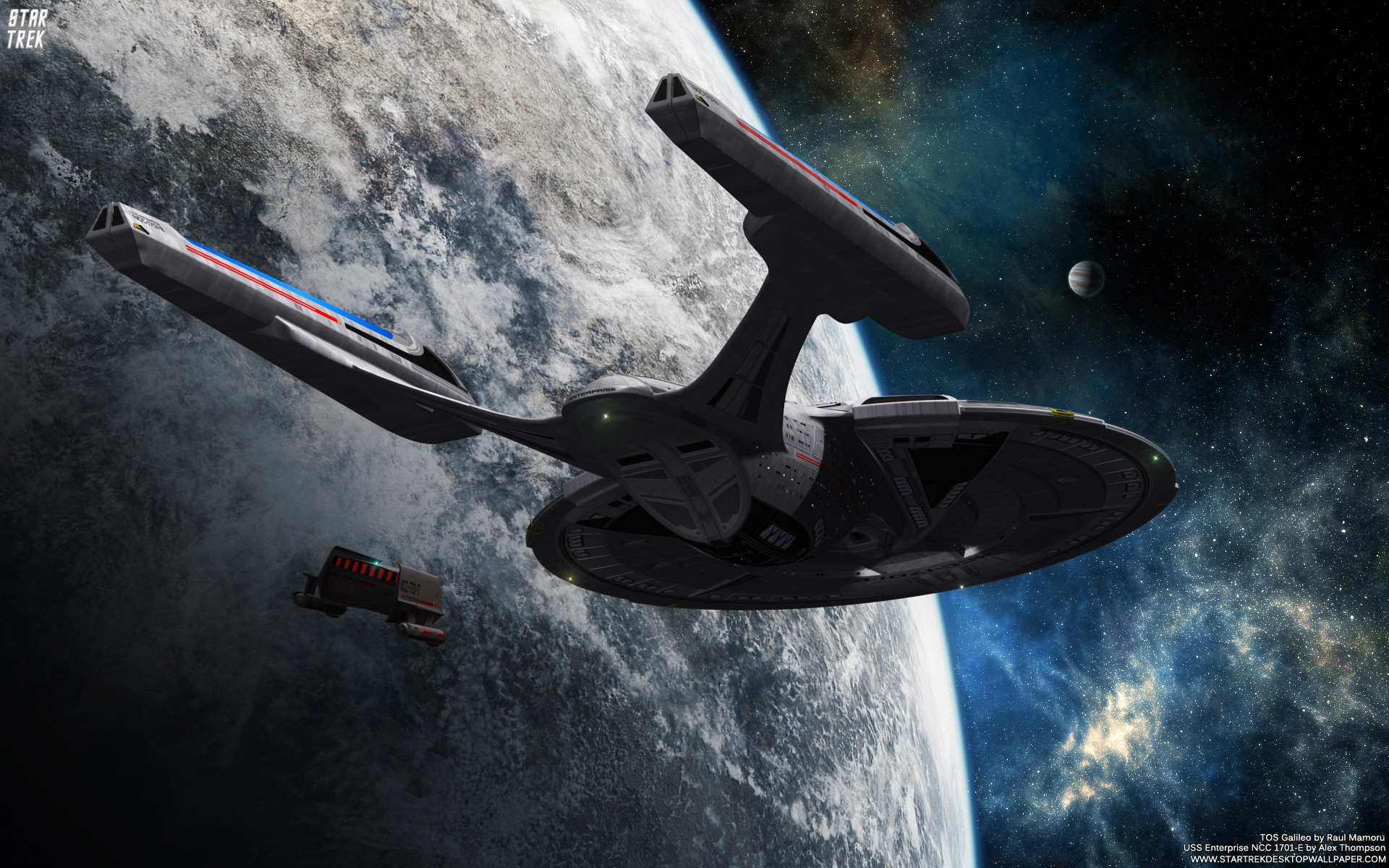 1920x1200 Star Trek USS Enterprise NCC 1701-E. Free Star Trek computer desktop  wallpaper,