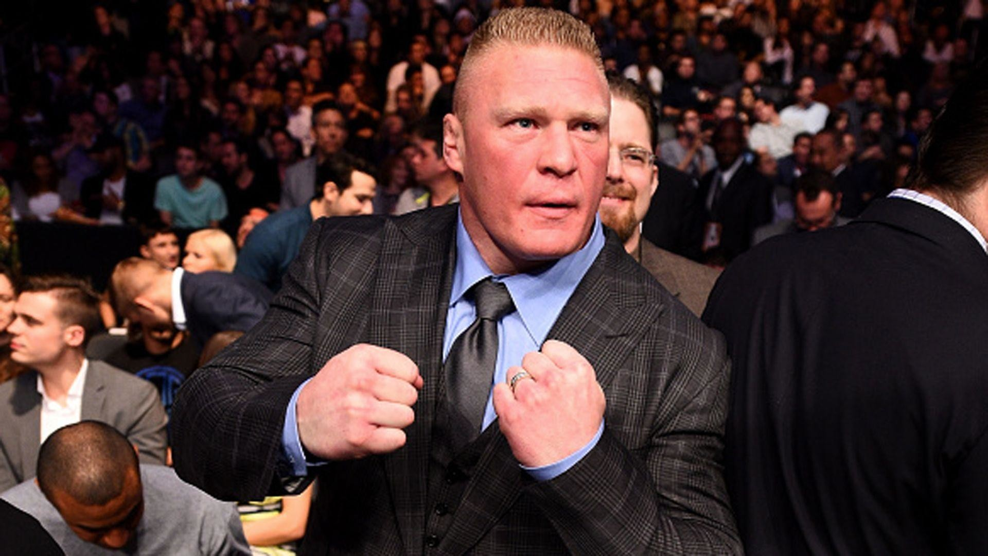 1920x1080 Brock Lesnar re-signs with WWE, will never go back to UFC | MMA