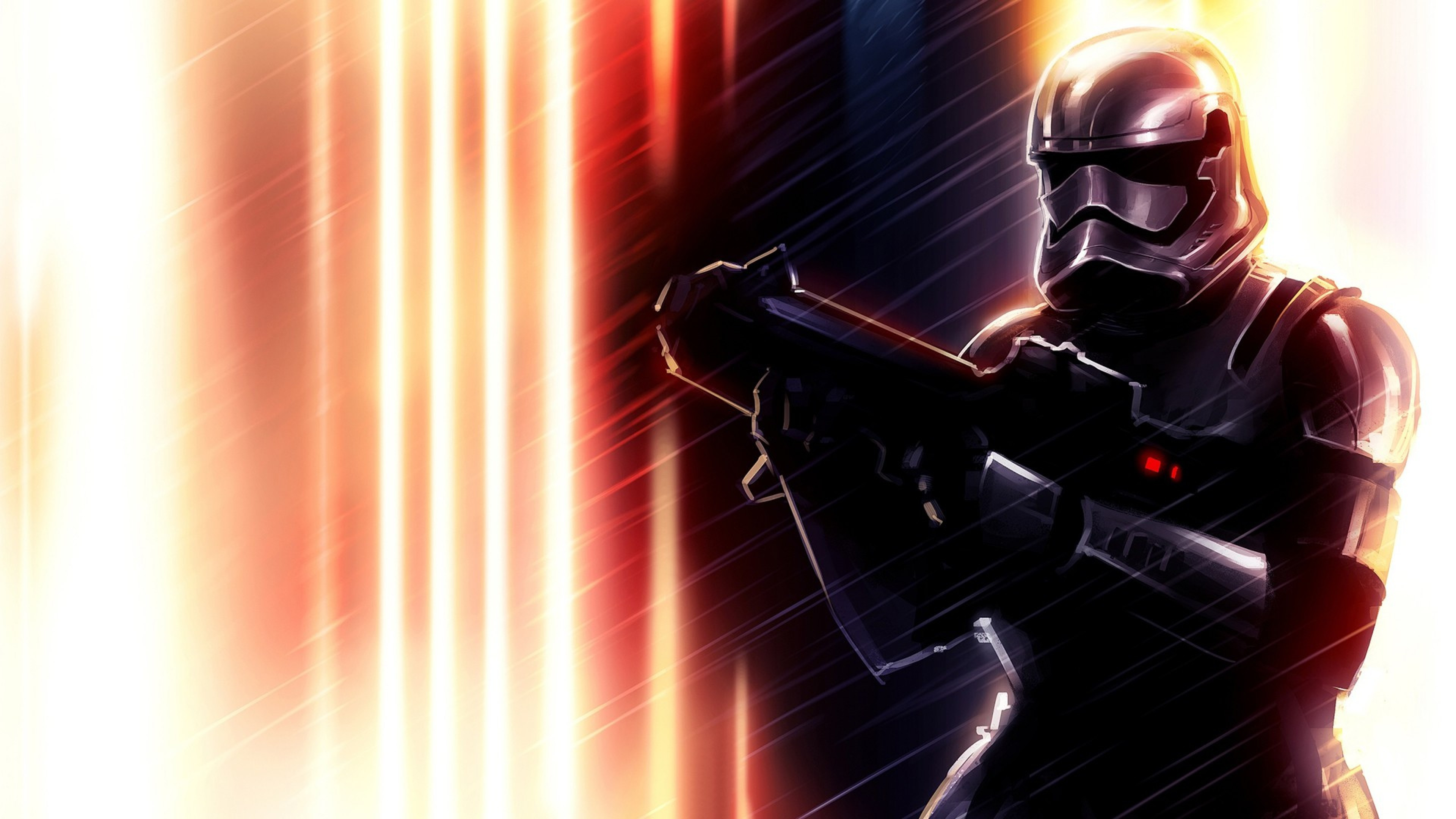 3840x2160 Preview wallpaper star wars, darth vader, art