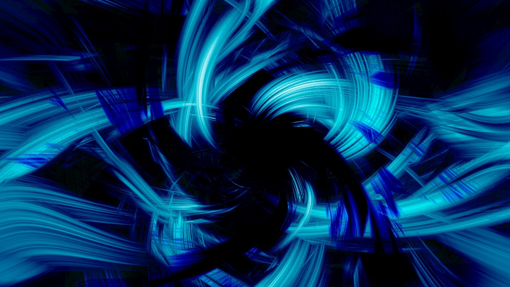1920x1200 Black Background Blue Stripes Light Wallpapers Photos Pictures Women