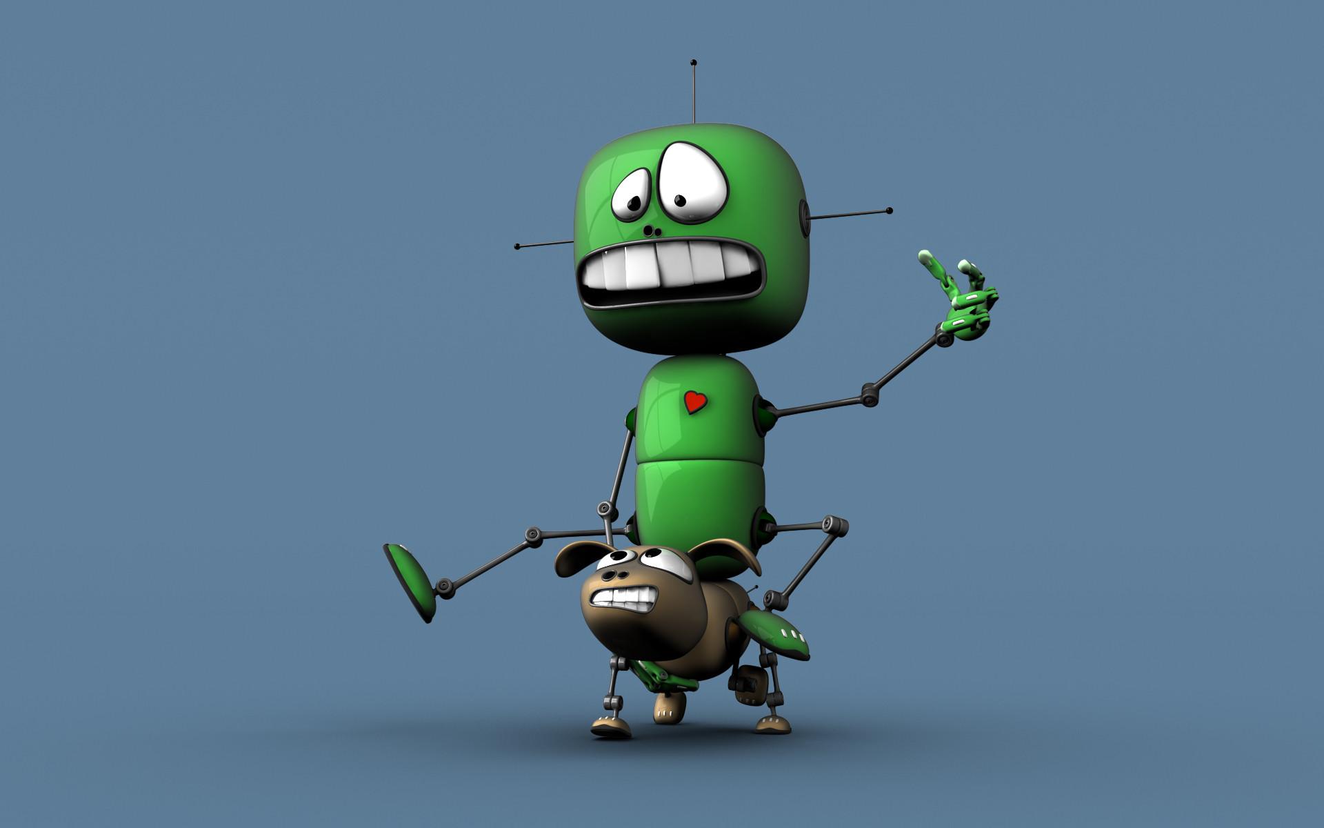 Omg wallpapers 70 images - Robot wallpaper 3d ...