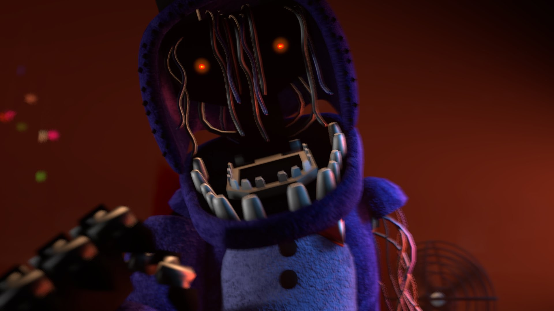 1920x1080 [FNAF SFM] Withered Bonnie Jumpscare (New Model) - YouTube