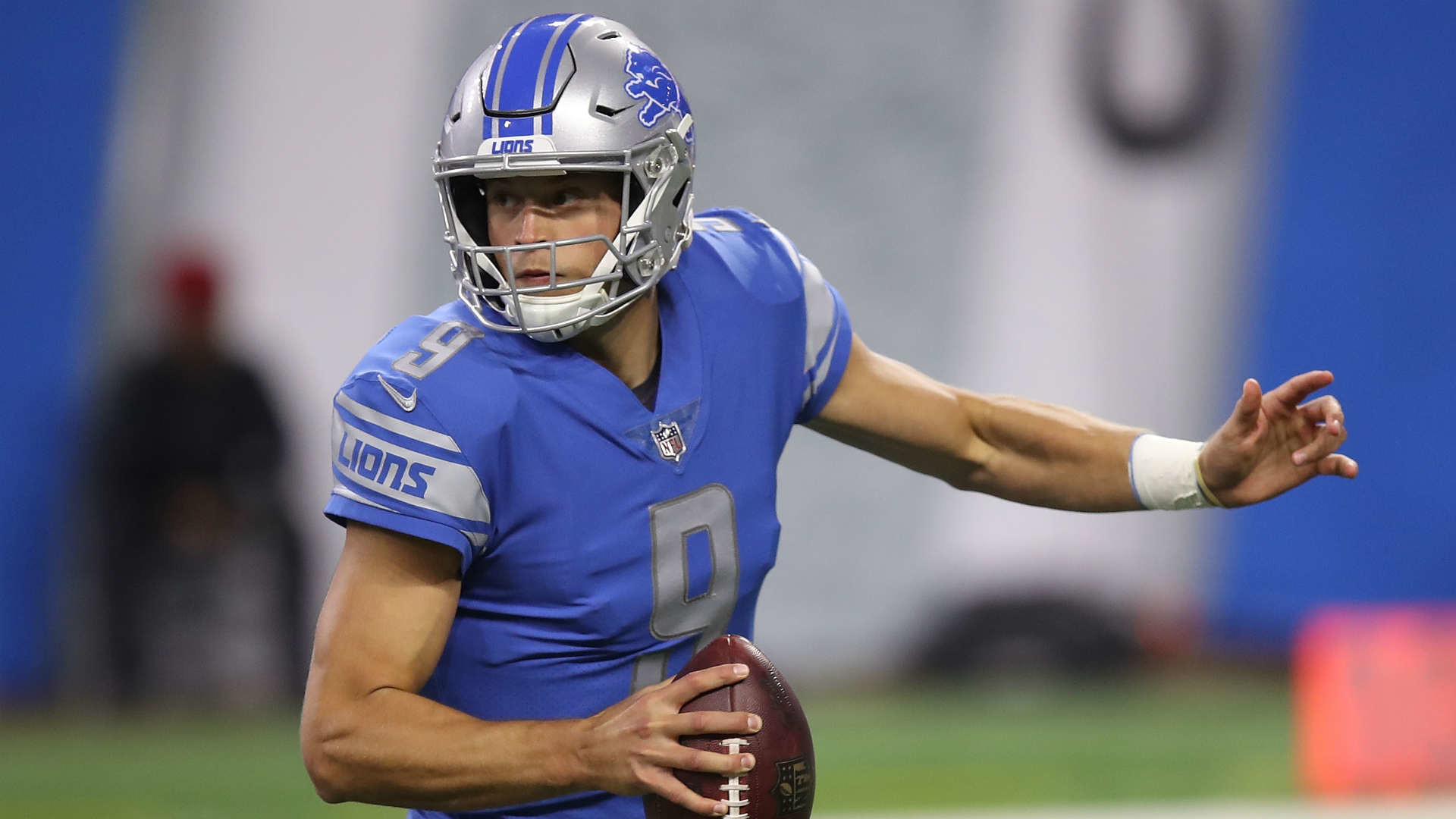 1920x1080 Report: Matthew Stafford injures hamstring and ankle, but no update from  Lions | NFL | Sporting News