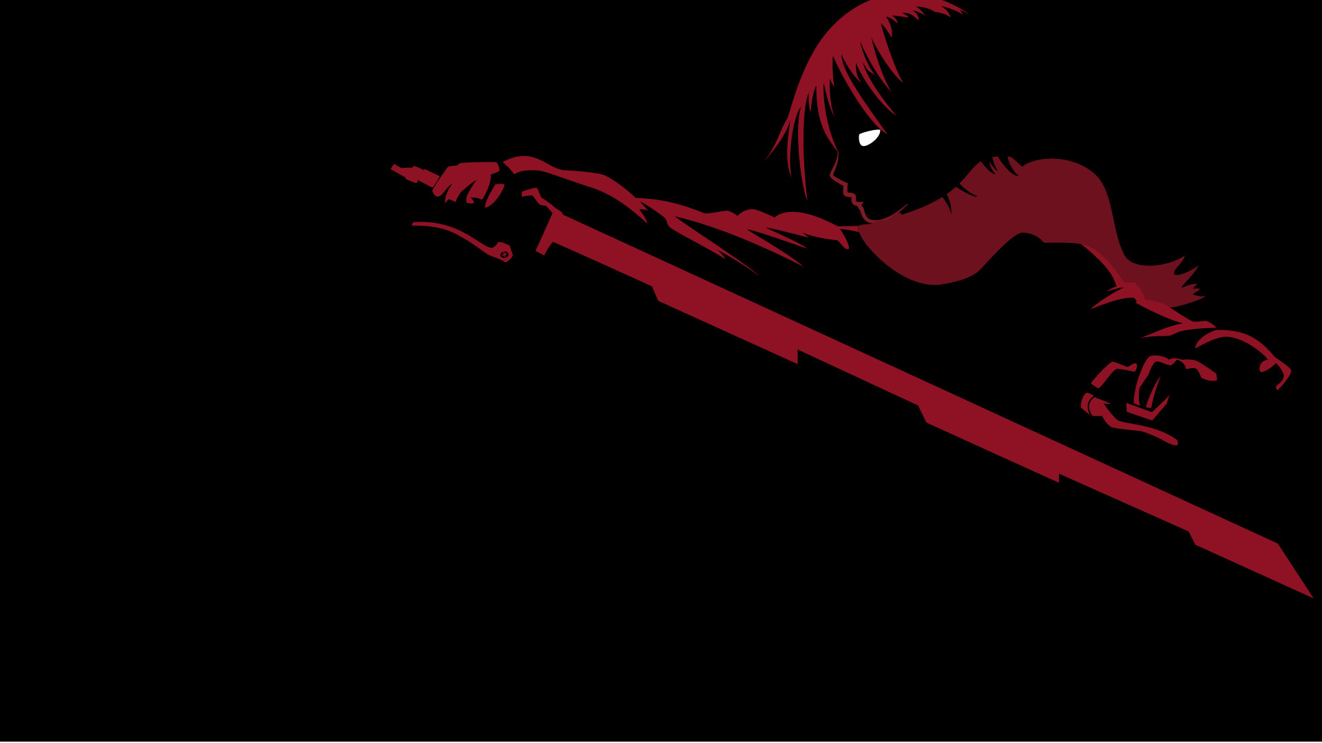 Red and Black Anime Wallpaper (72+ images)