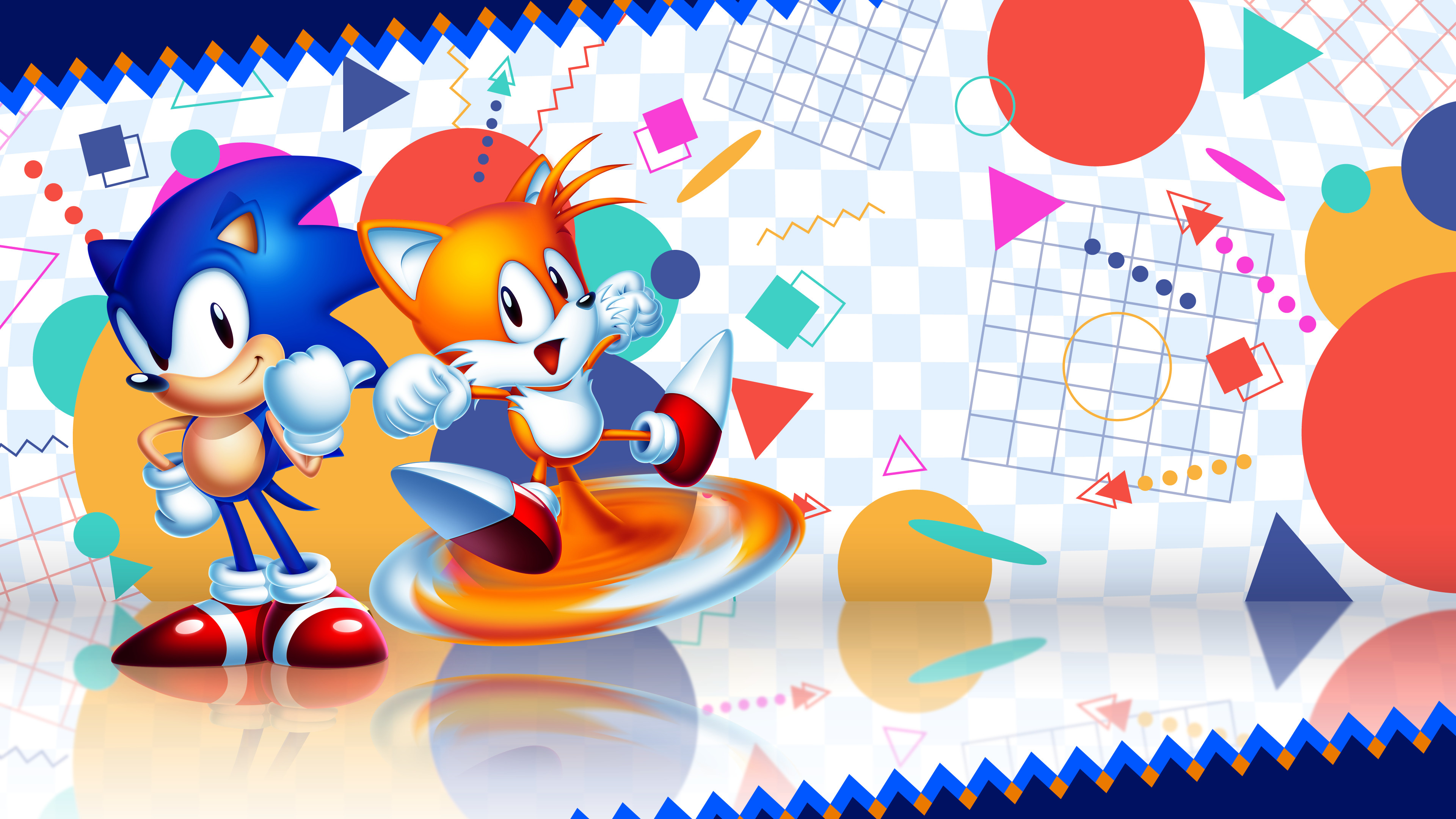 3840x2160 By the Fans, For the Fans - Sonic 2 HD wallpaper by TimeWarp33