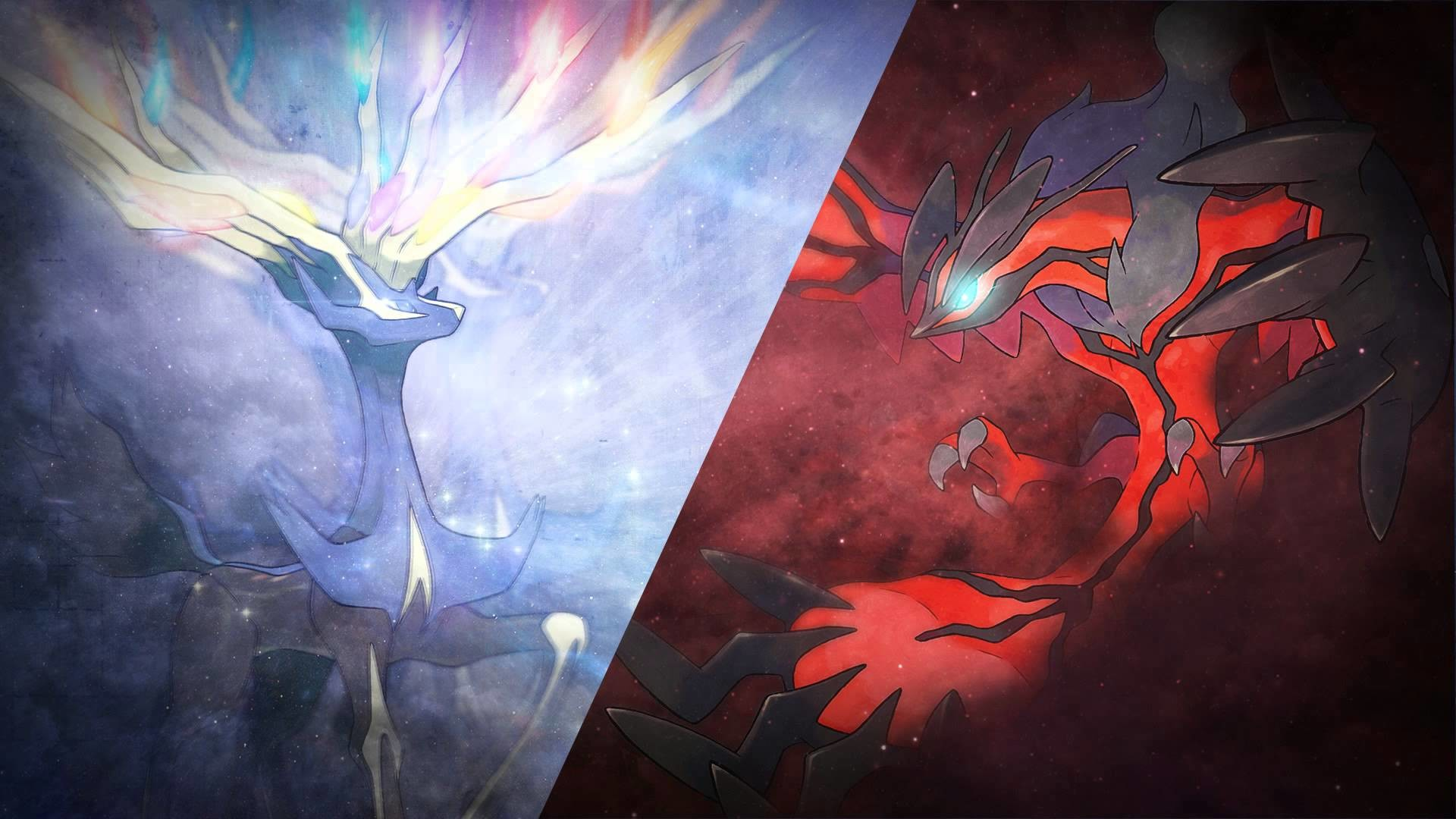 Yveltal Wallpapers (72+ images) Xerneas Yveltal Zygarde Wallpaper