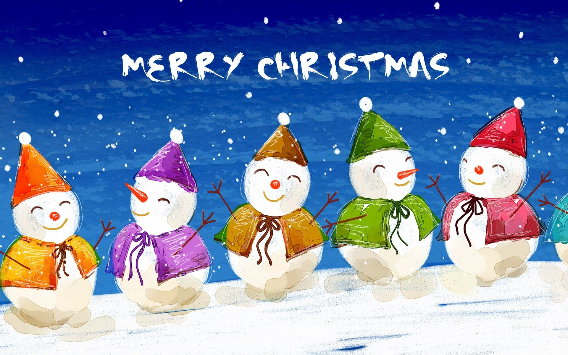 High Quality Animated Merry Christmas Wallpaper Download Best