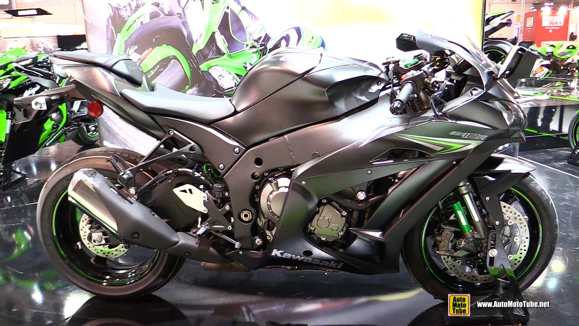 1920x1080 2017 Kawasaki ZX 10R A 2016 Ninja Zx10r Walkaround 2015 Eicma Milan