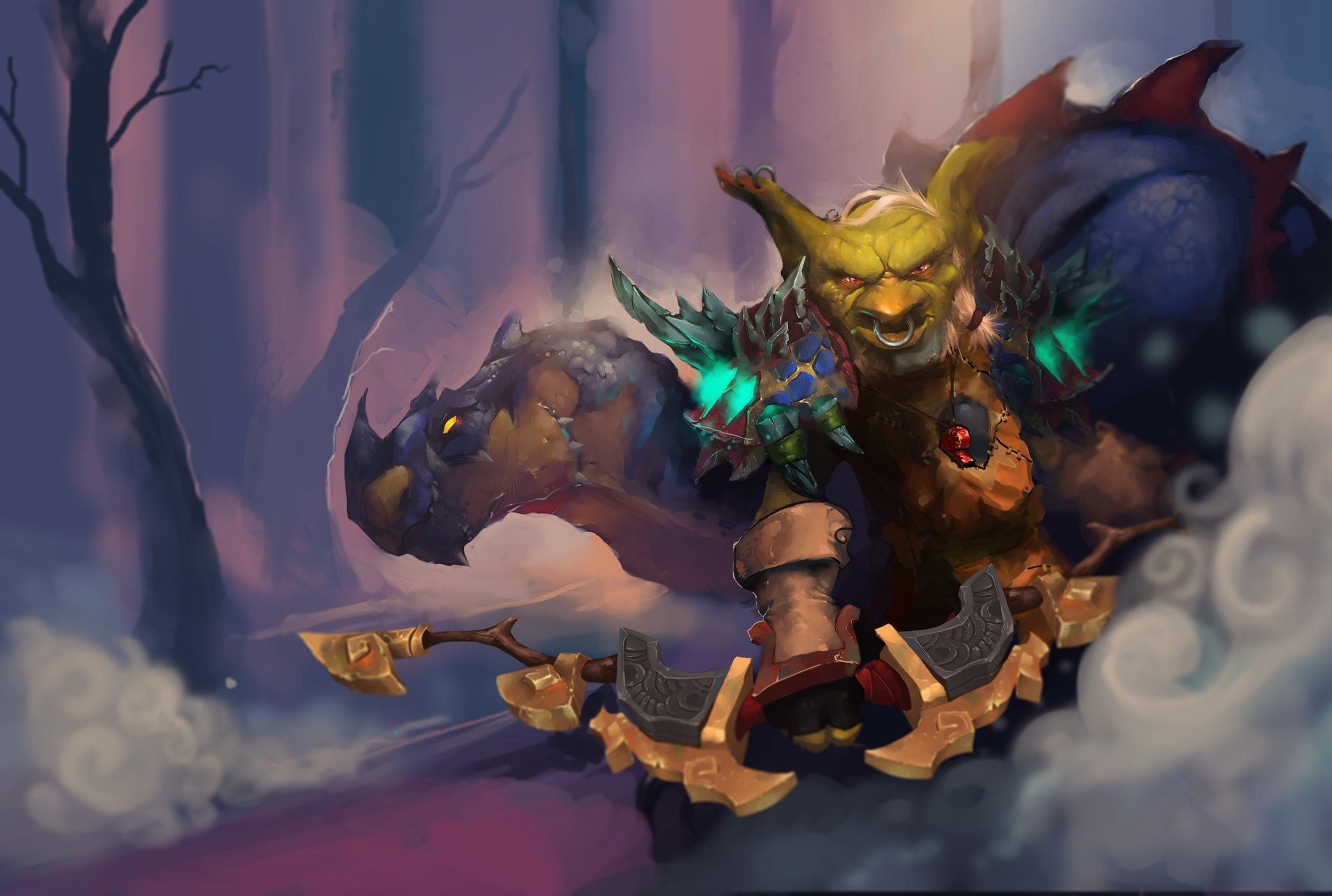 1920x1292 fantasy Art, World Of Warcraft, Goblin Wallpapers HD / Desktop and Mobile  Backgrounds