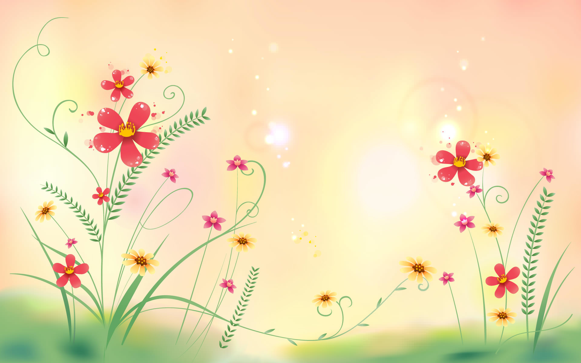 Abstract Flowers Wallpaper 66 Images