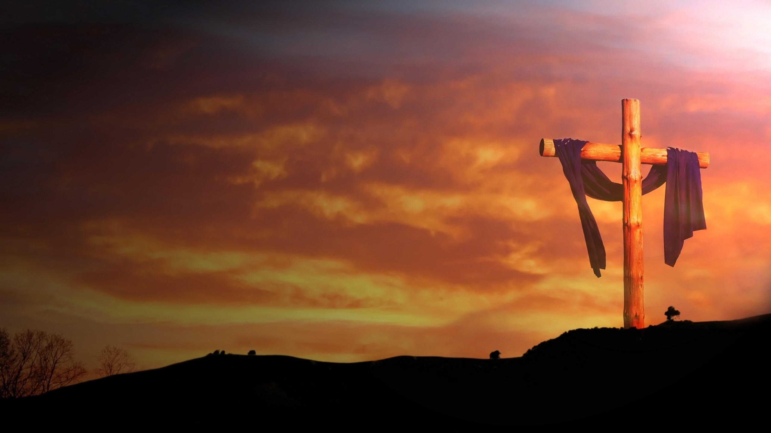 religious wallpapers backgrounds cross widescreen