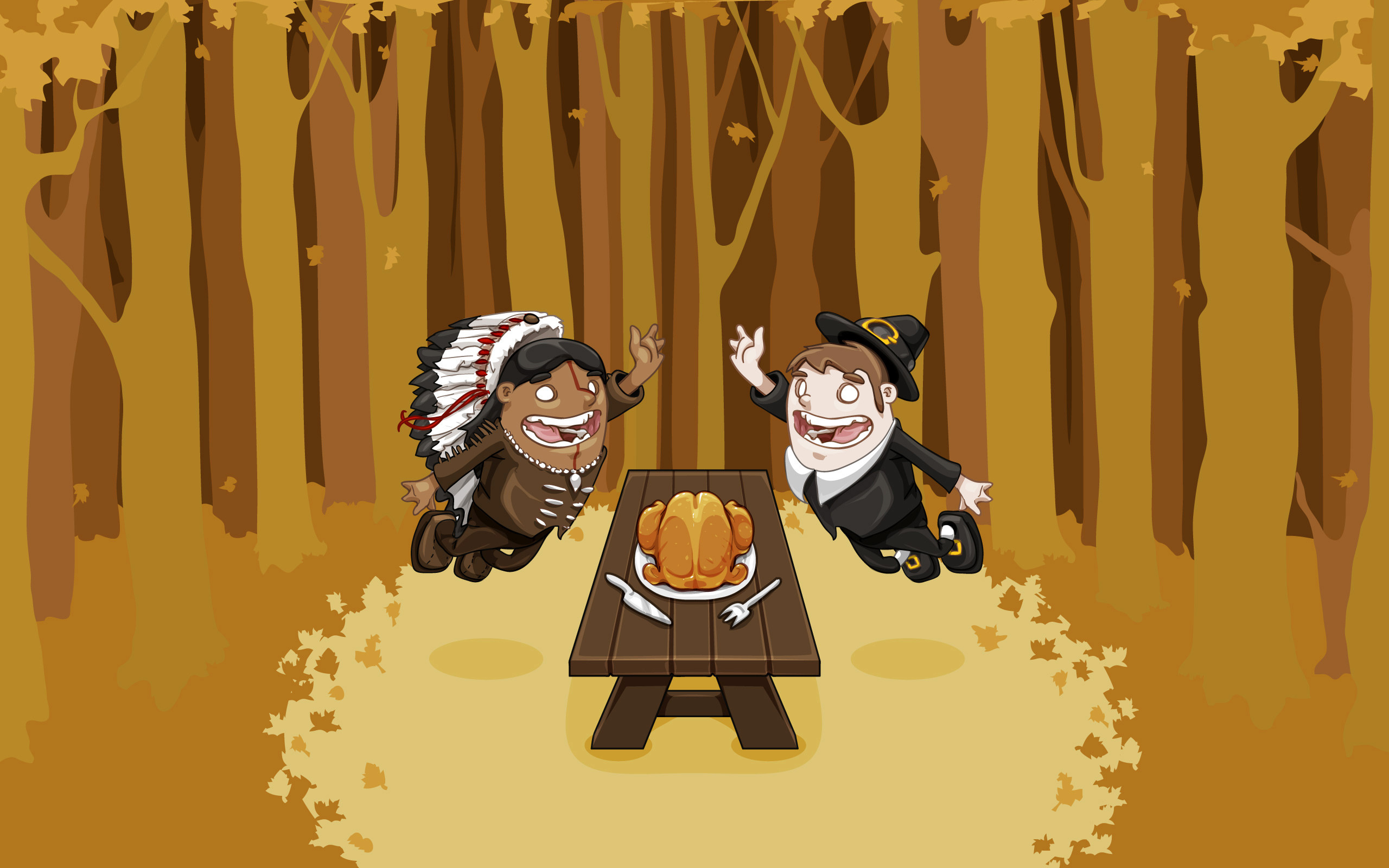 2560x1600 Thanksgiving Google Themes, High Five Thanksgiving Google Wallpapers .