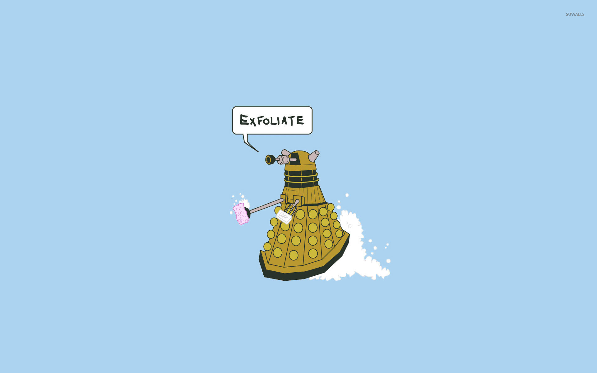 1920x1200 Funny Dalek wallpaper