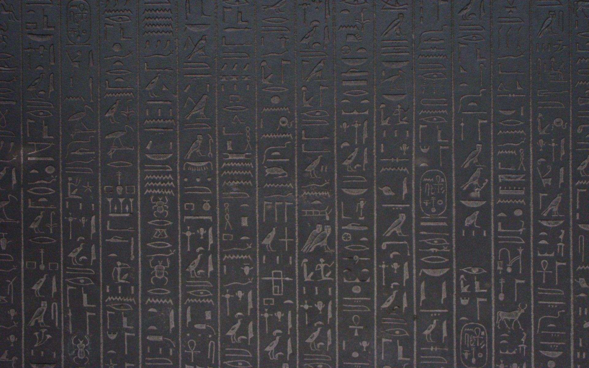 1920x1200 Egyptian Hieroglyphics Wallpaper Hd