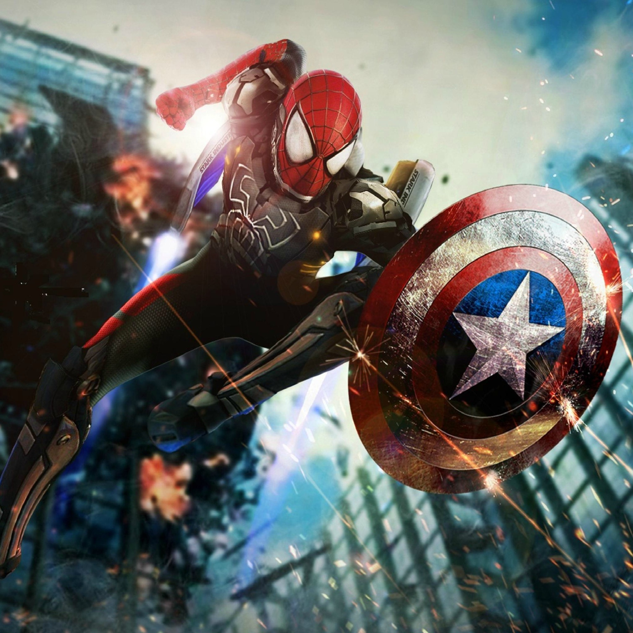 Spiderman wallpaper 73 images - Iron man spiderman wallpaper ...