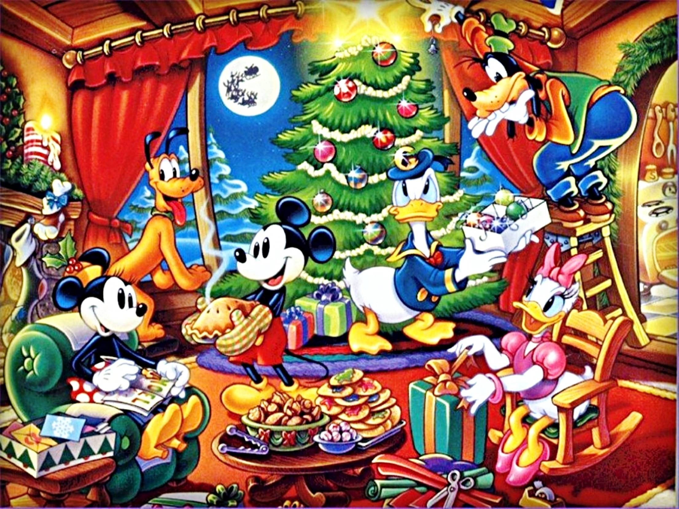 2212x1659 Wallpapers For > Baby Disney Christmas Backgrounds