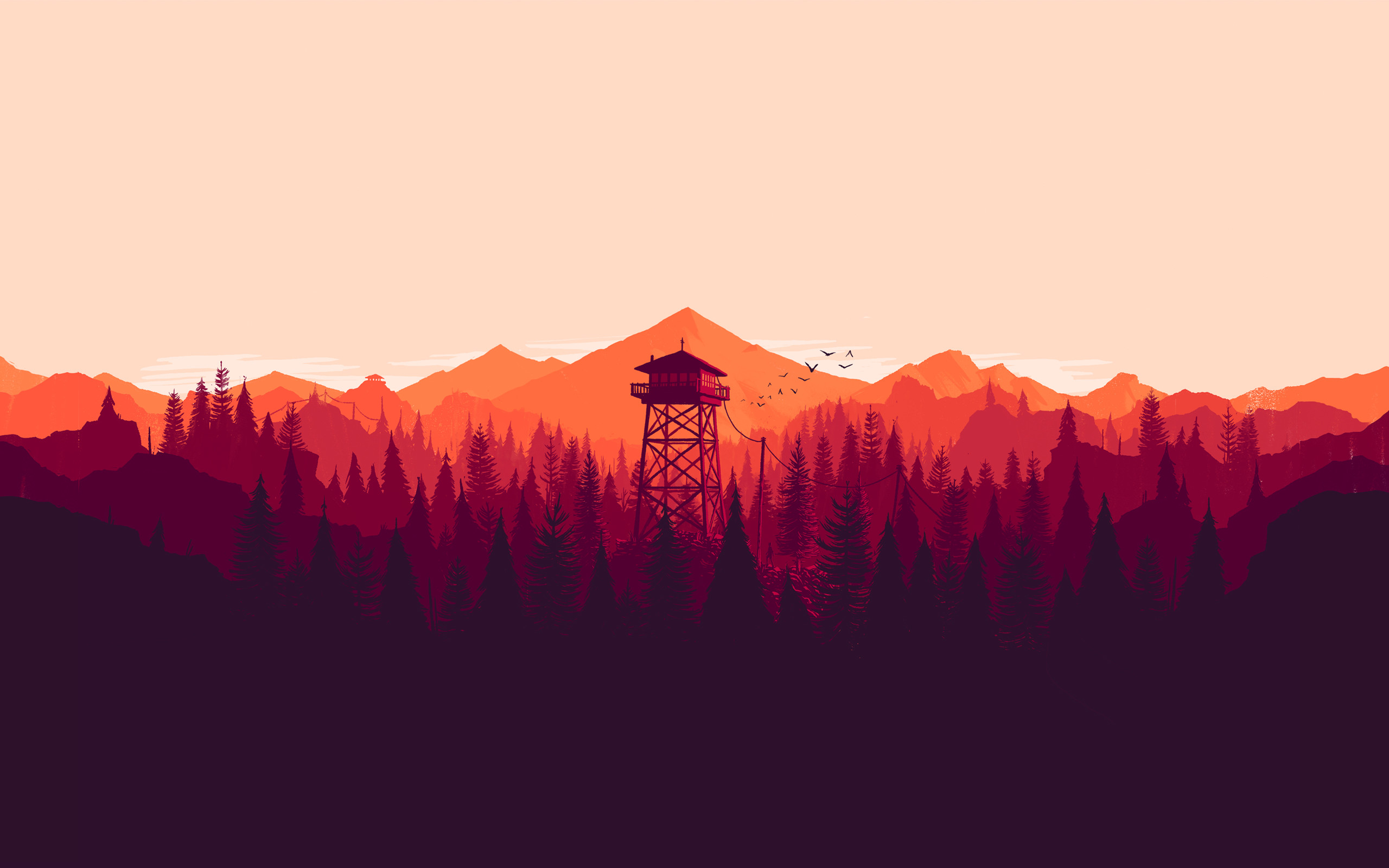 2560x1600 wyjegcy200q7fgrfvbxy.jpg (2560×1600) | Firewatch | Pinterest | Campo santo,  Wallpaper and Game art