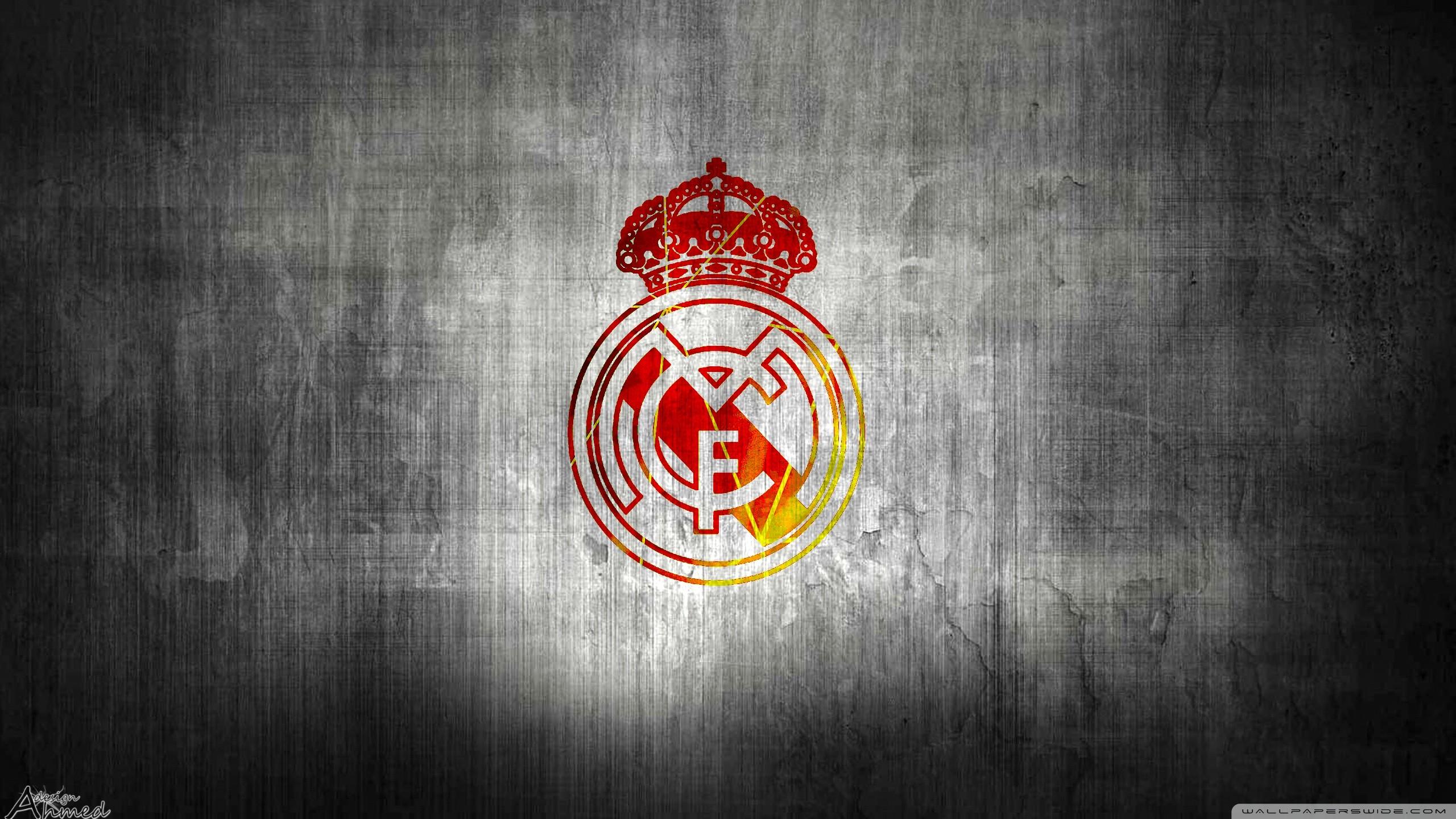 Wallpaper of D Emblem Logo Real Madrid occer background
