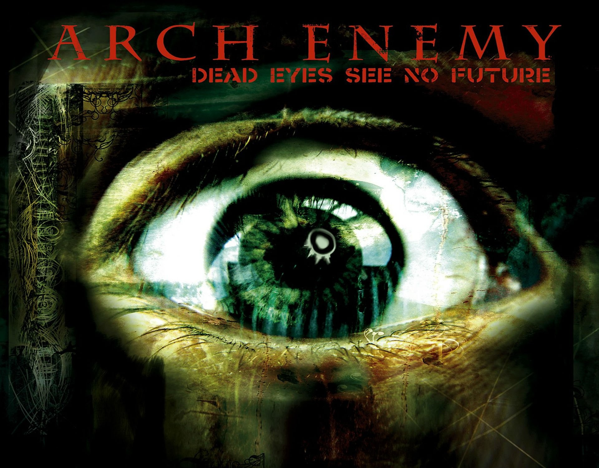 1920x1500 Arch Enemy Death Metal Heavy Progressive Thrash Poster Dark Eye Occult Evil  Satanic Wallpaper At Dark Wallpapers