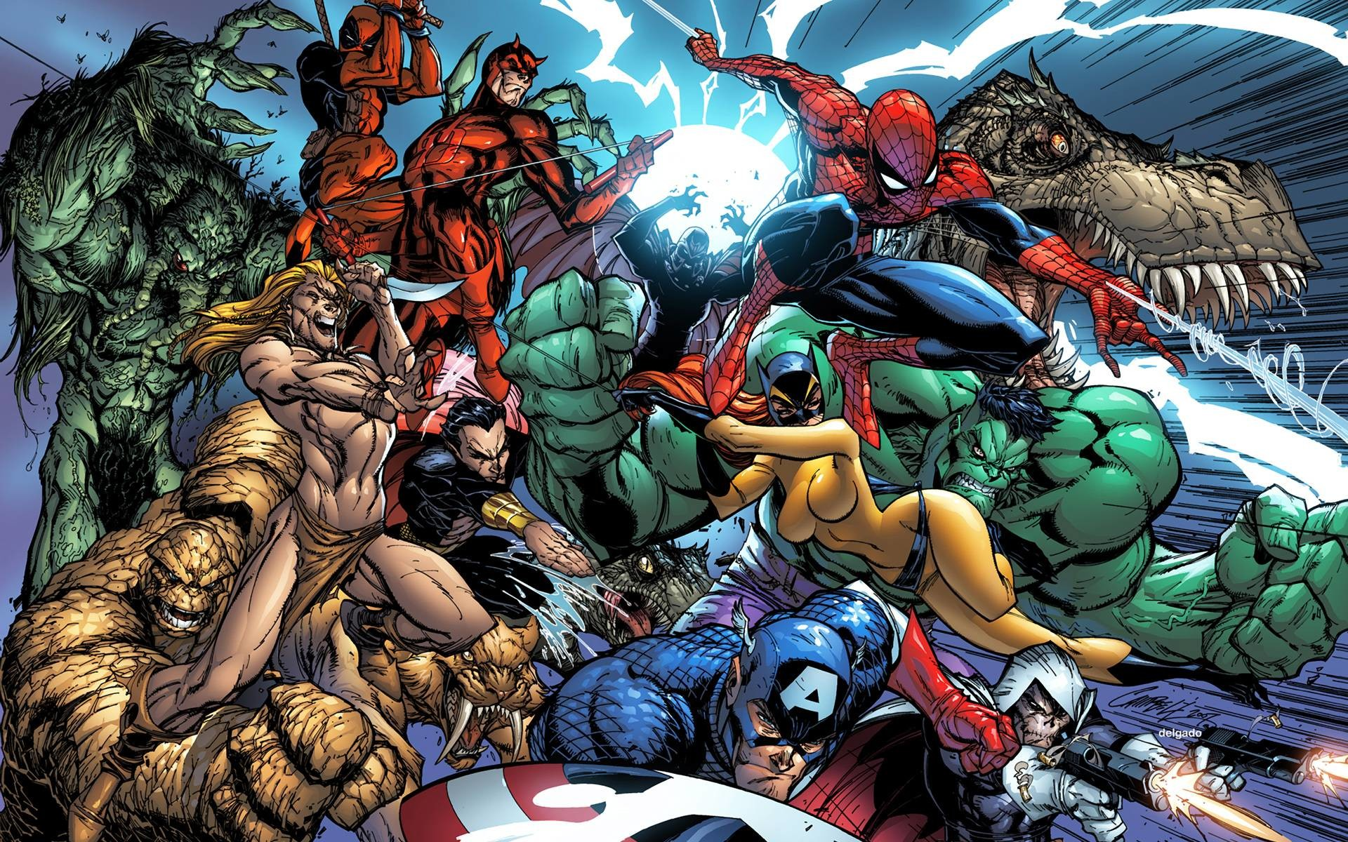 1920x1200 Marvel Wallpaper Widescreen 27979 Hd Wallpapers in Movies .