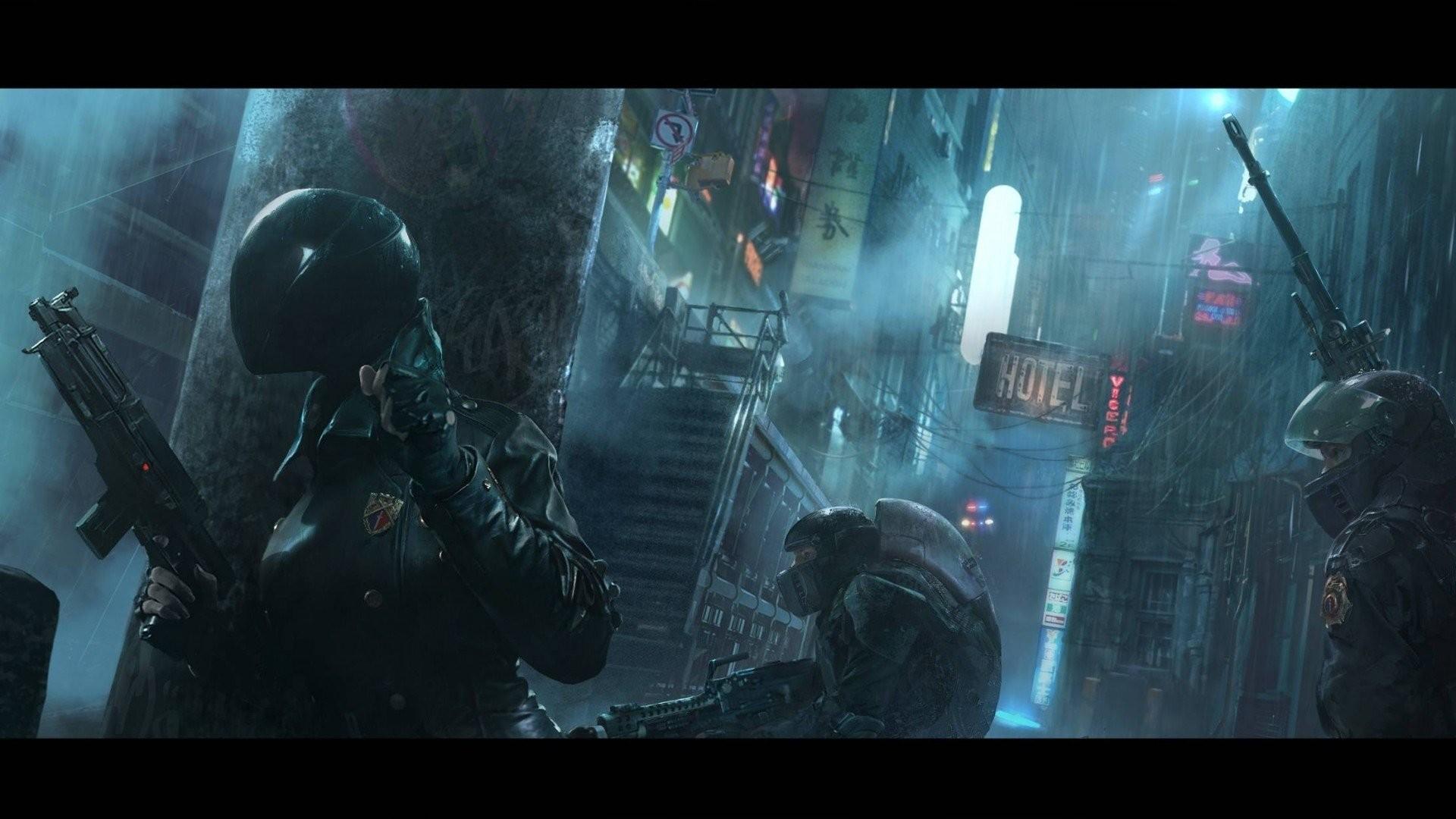 Cyberpunk 2077 City Wallpaper