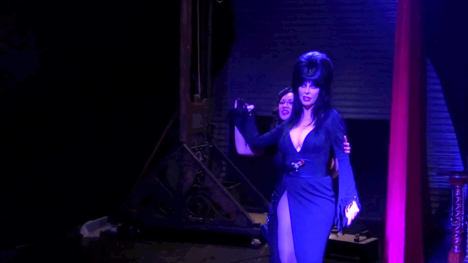 1920x1080 Michelle Nyree teaches Elvira, Mistress of the Dark how to Crack a Whip!