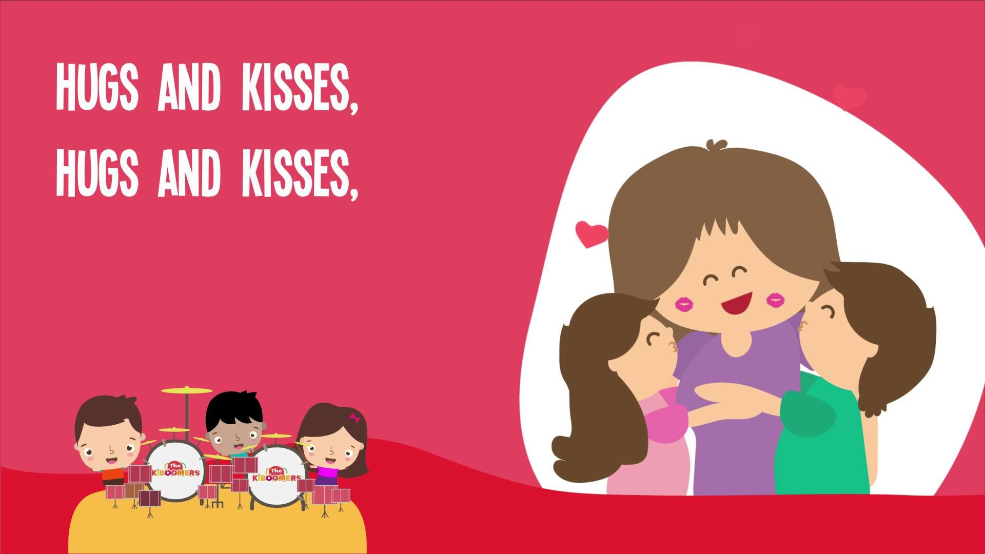 1920x1080 Hugs and Kisses Song | Hugs and Kisses for Mommy | Kids Songs | The  Kiboomers - YouTube