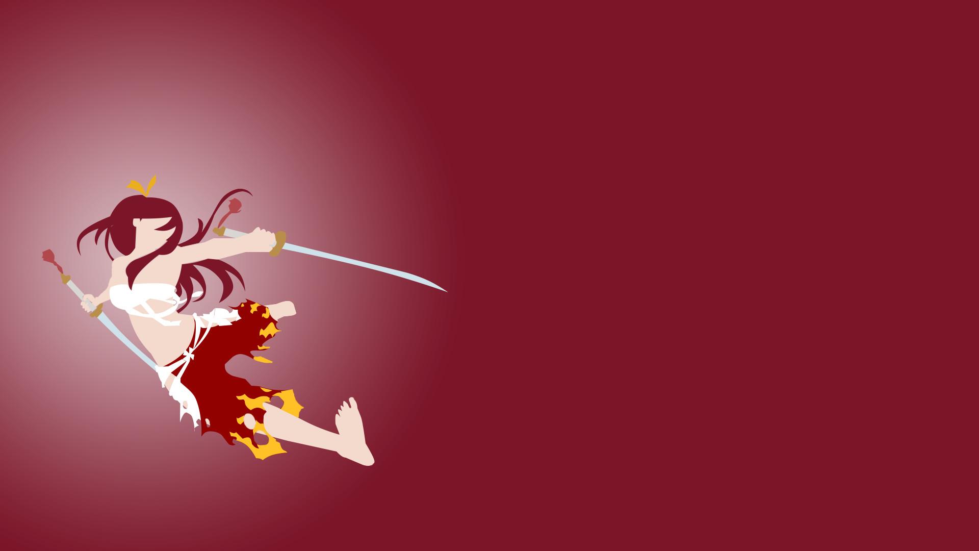 Fairy Tail Guild Wallpaper Hd Erza Scarlet Wallpaper...