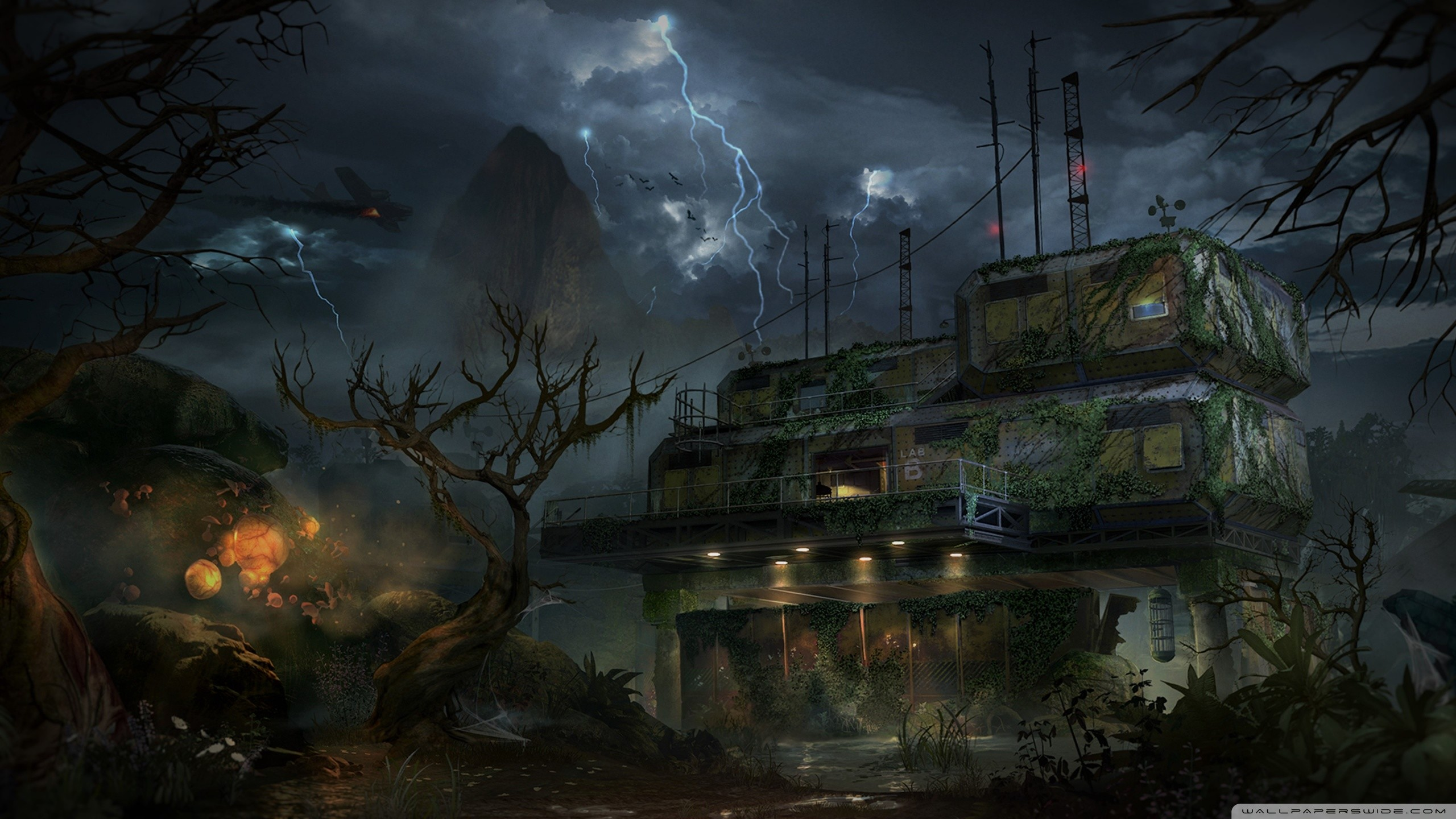 Zombies Wallpaper 1920x1080 Call of Duty Zombies W...