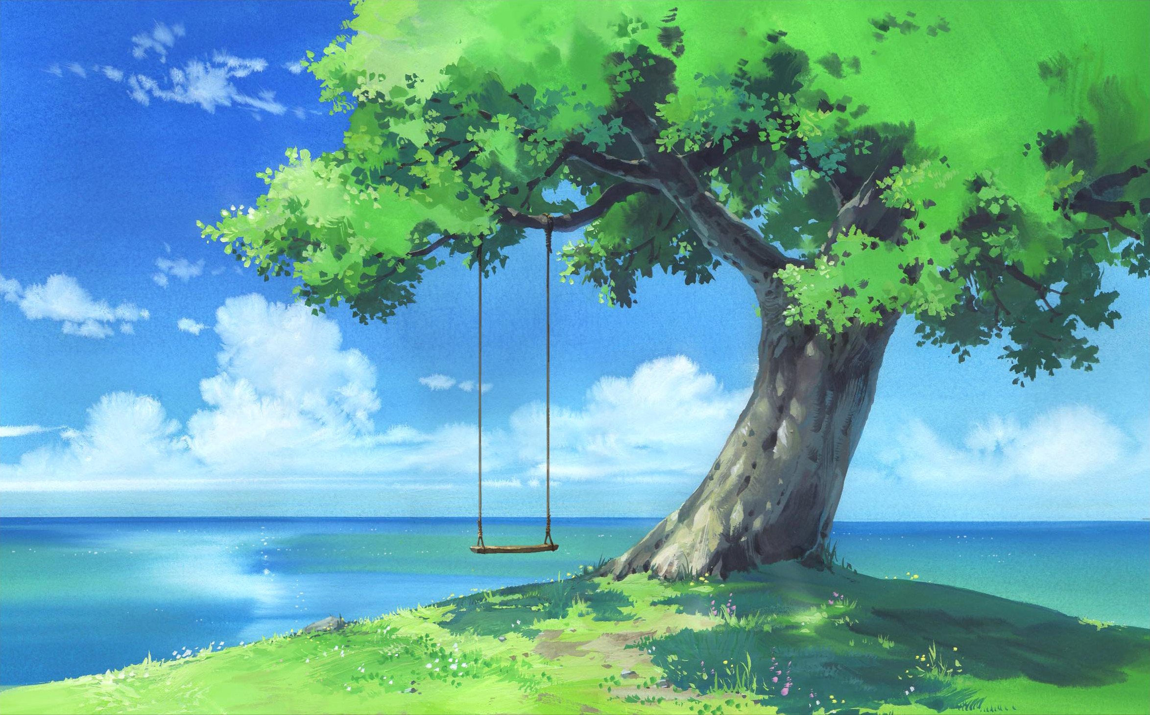 Landscape Anime Scenery Wallpaper 4k