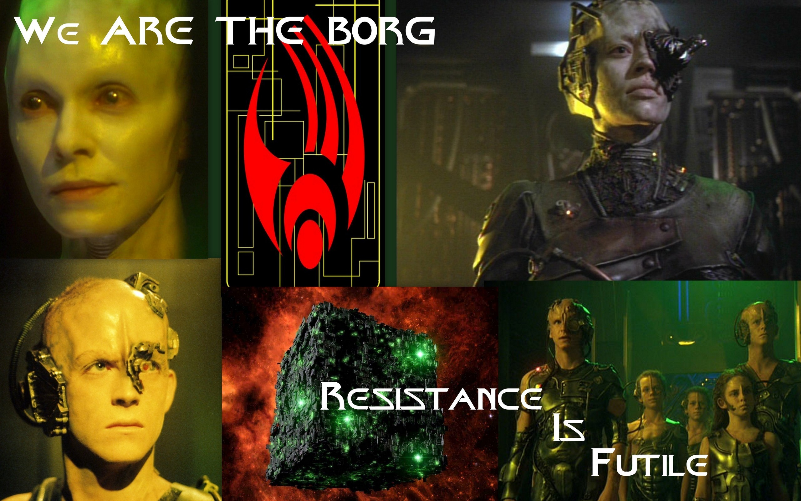 2560x1600 Star Trek Voyager images We are the Borg-Voyager themed HD wallpaper and  background photos