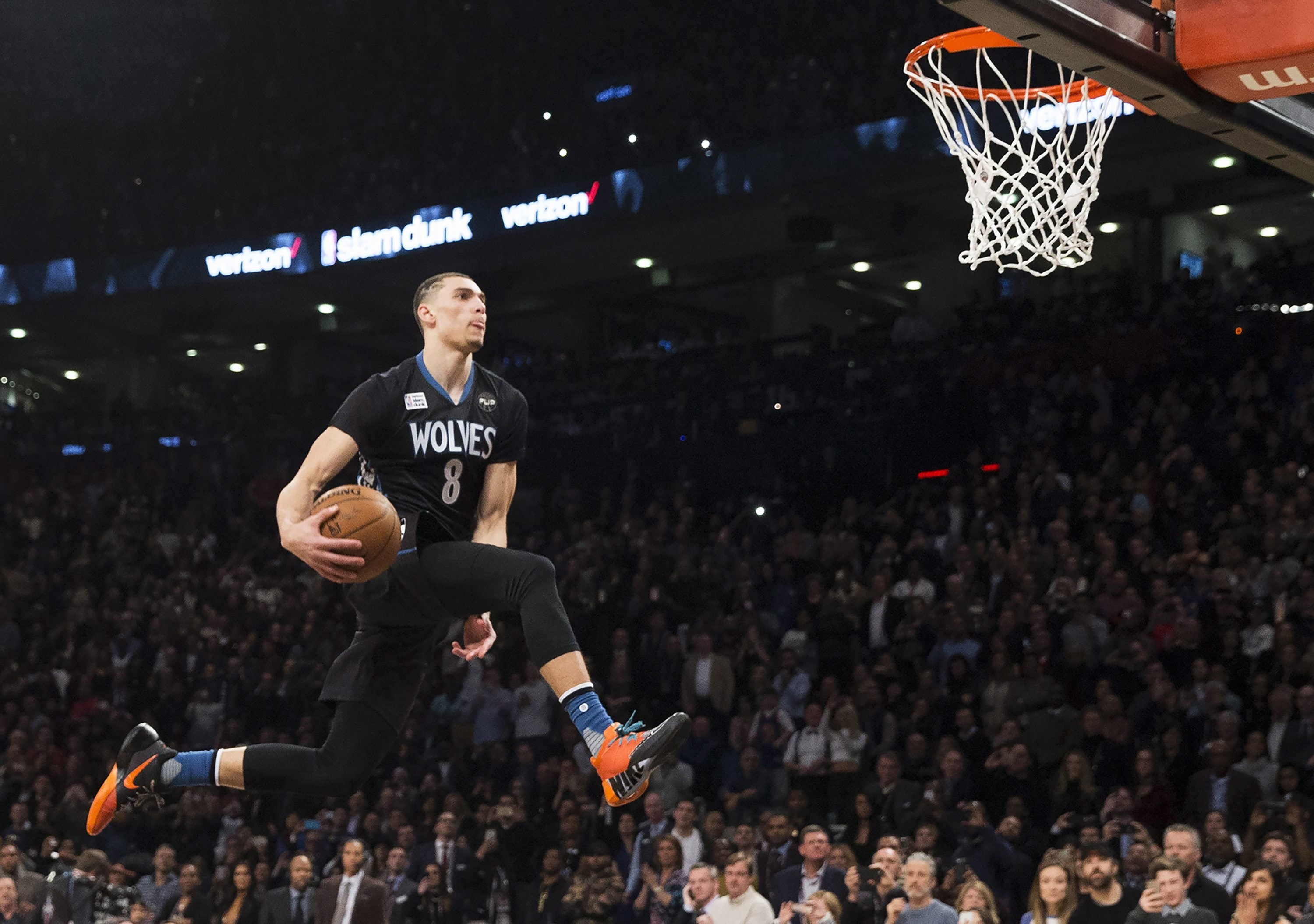 3000x2110 Zach LaVine won't defend his dunk contest title. What about the three-point  contest?