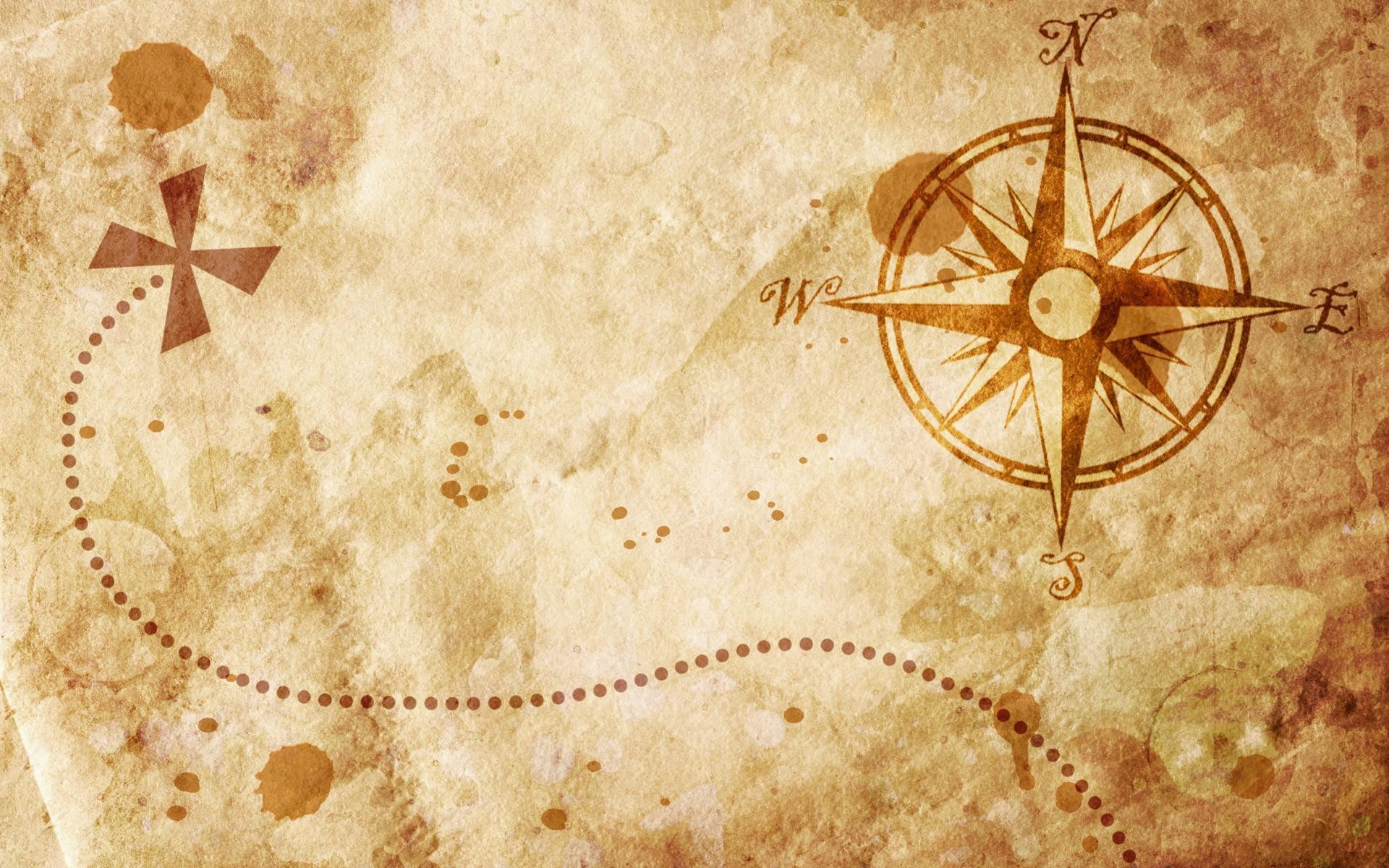 1920x1200 Old-map-with-a-compass-on-it-wallpapers-