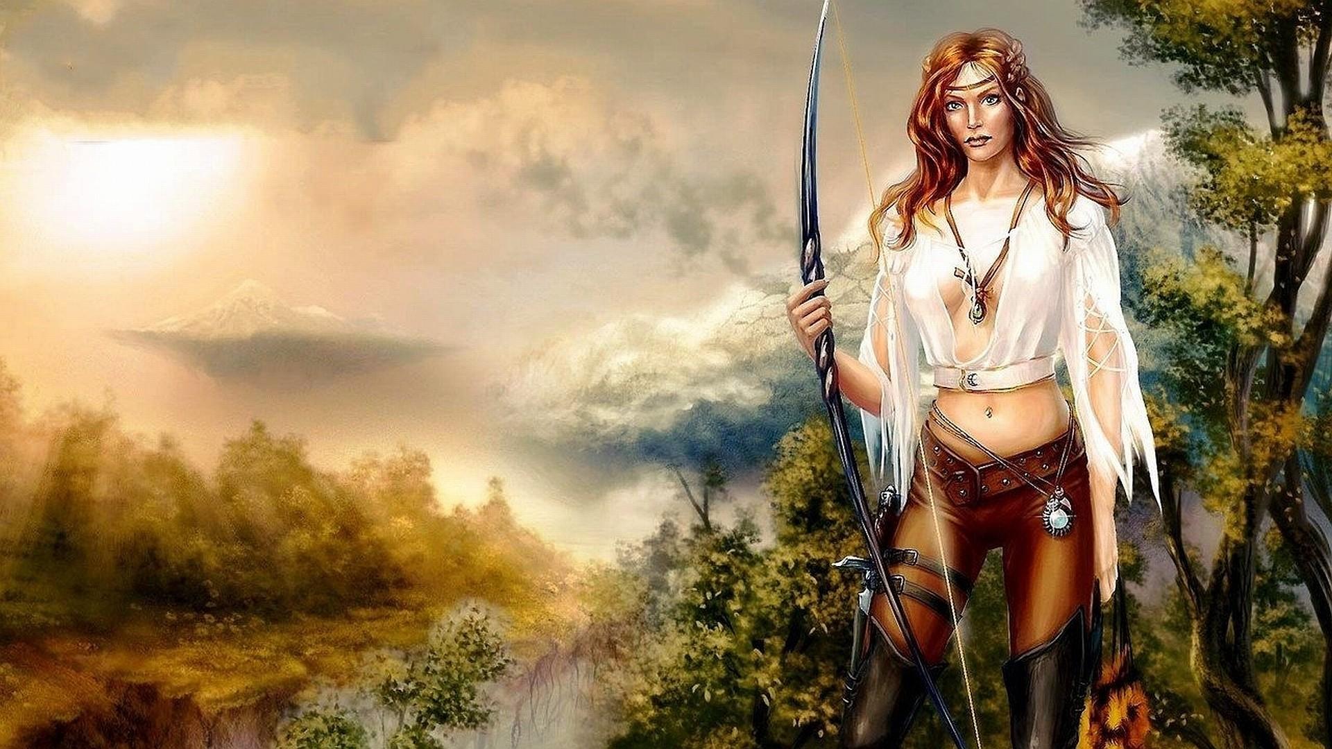 Fantasy women warriors wallpaper 84 images - Fantasy desktop pictures ...