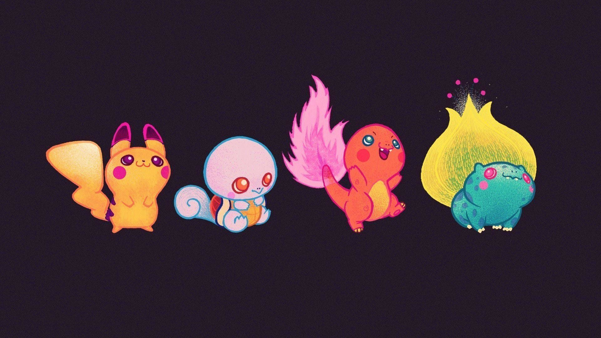 1920x1080 cute-baby-pokemon-15312 Pikachu Wallpapers HD free wallpapers .