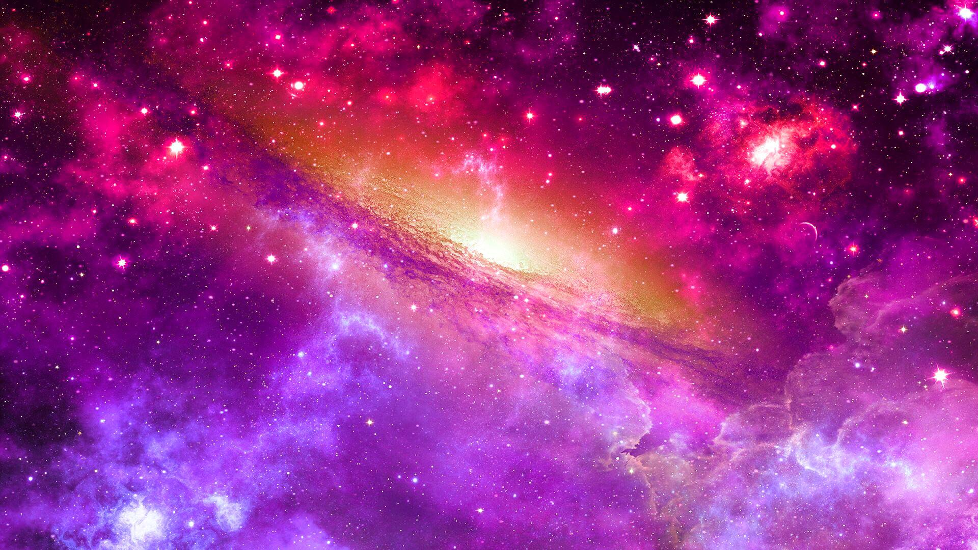 Hd purple space wallpaper 65 images - Purple space wallpaper ...