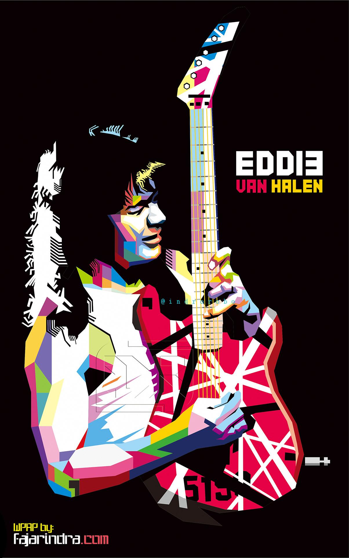 Eddie Van Halen WPAP By Indrorobo