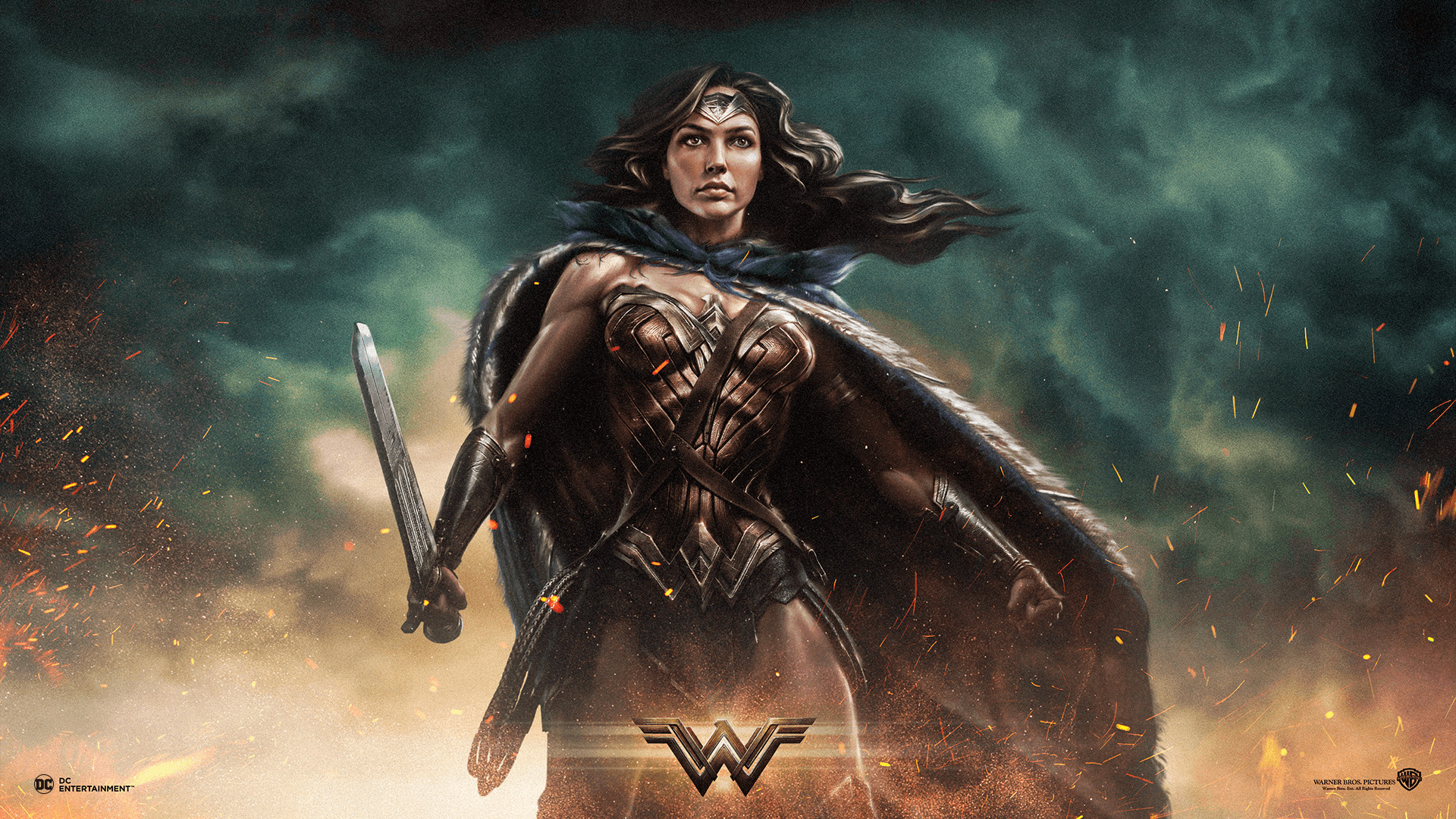 1920x1080 Wonder Woman Wallpaper ~ Sdeerwallpaper