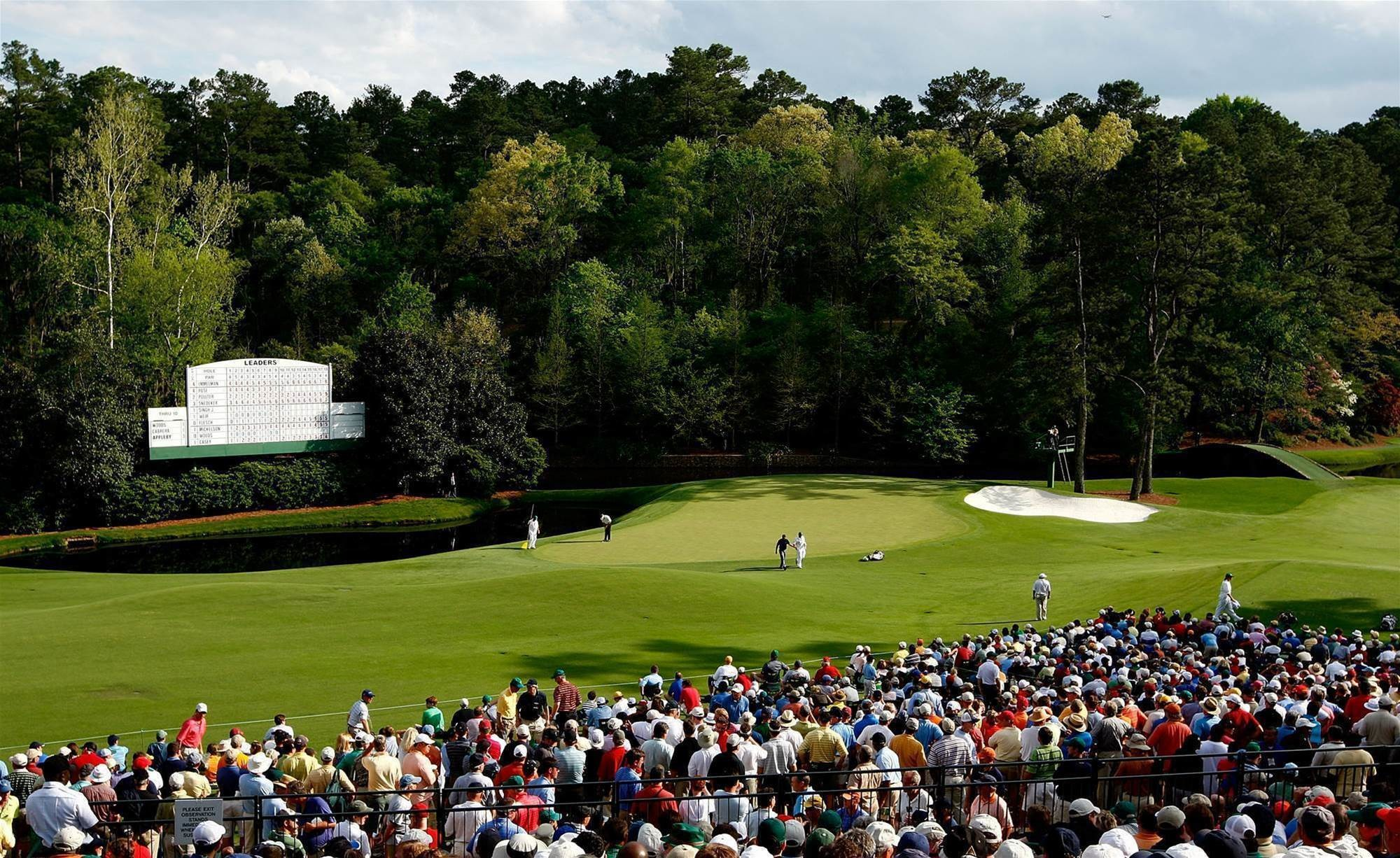 Res: 2000x1226, Augusta's 11th hole. PHOTO: Jamie Squire/Getty Images.