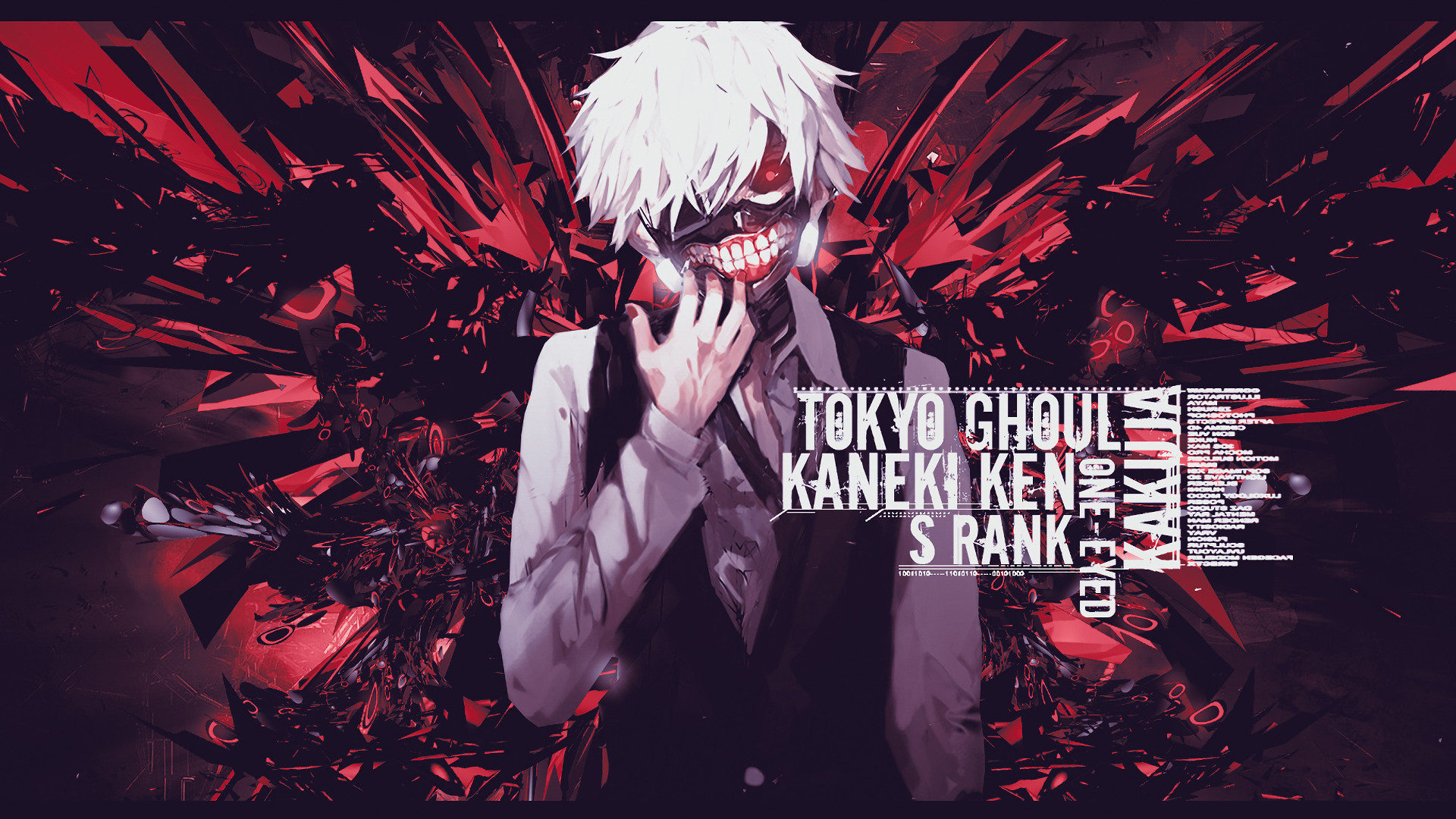 1920x1080 Anime - Tokyo Ghoul Wallpaper