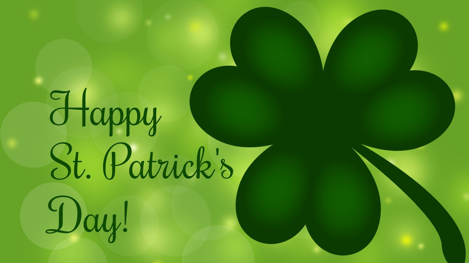 1920x1080 Happy Saint Patrick Background · happy saint patrick background free  powerpoint background. PowerPoint Backgrounds