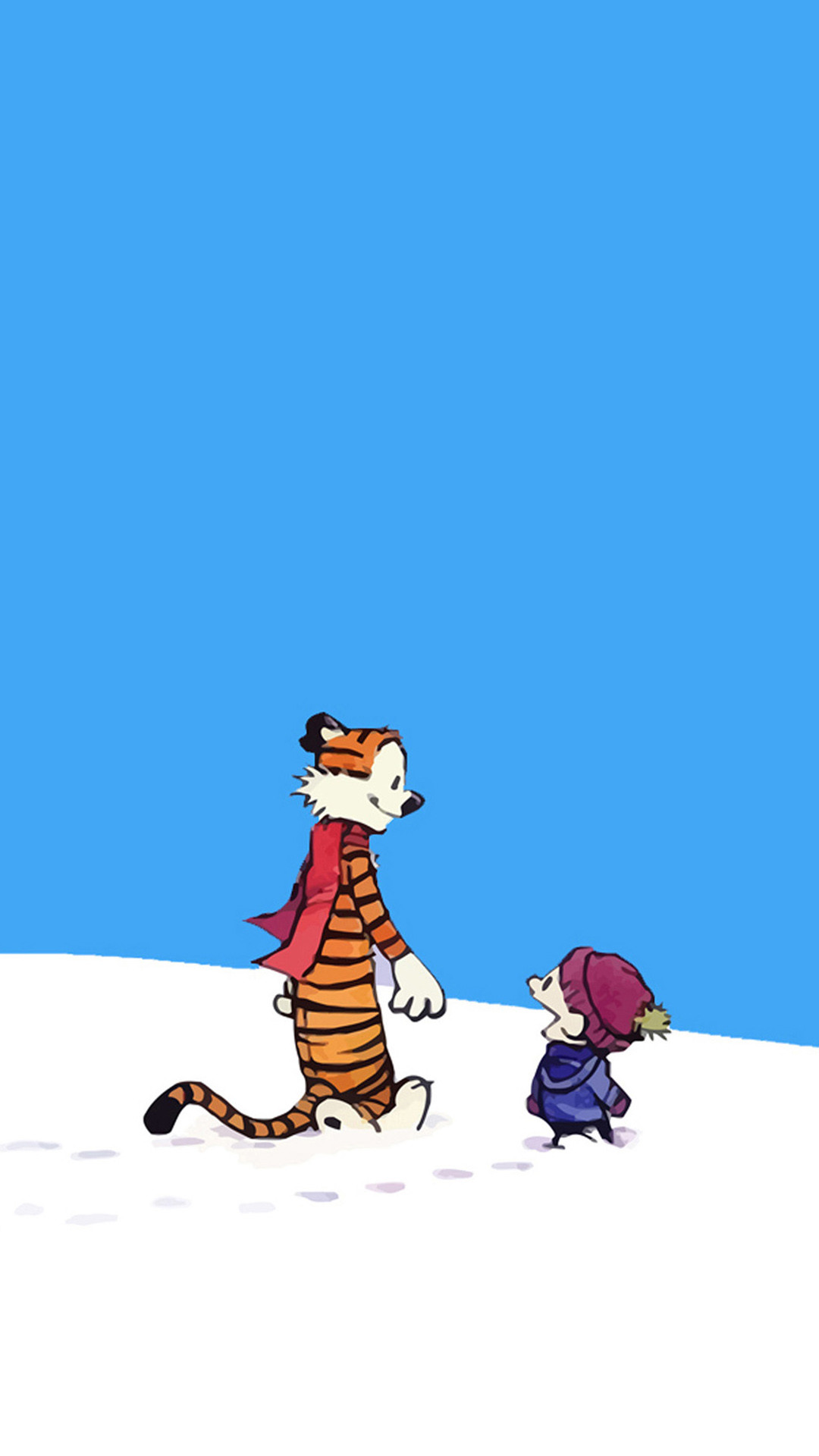1080x1920 Calvin And Hobbes Htc One M8 wallpaper