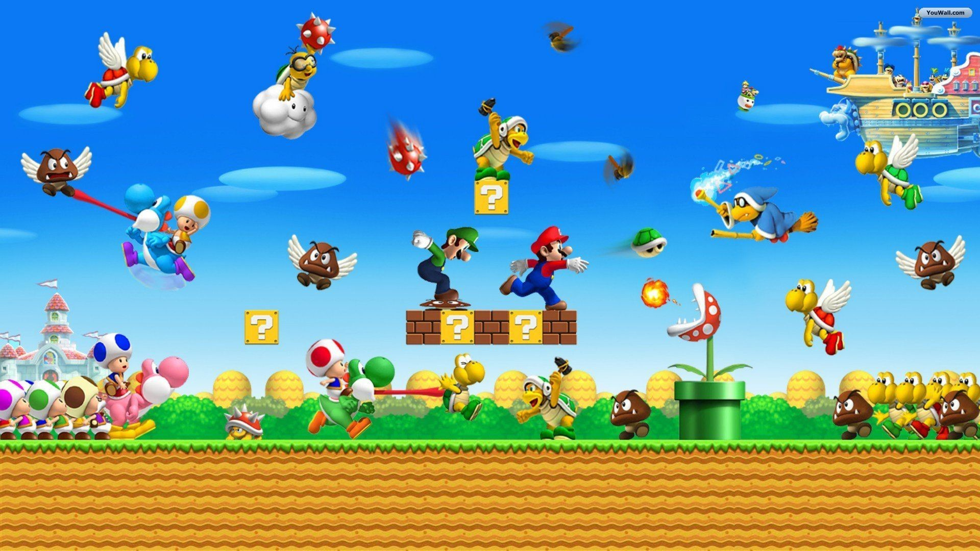 1920x1080 0 Mario Wallpapers Mario Wallpapers HD