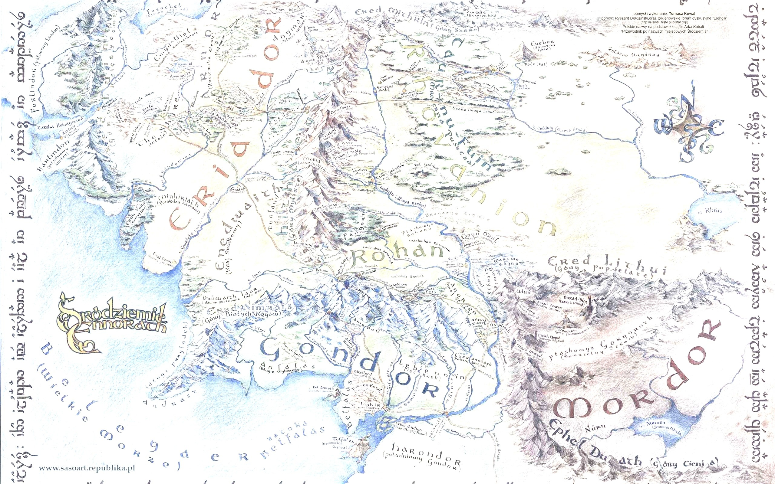 2560x1600 map of middle earth wallpapers throughout full map of middle earth